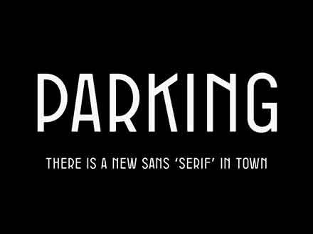 Parking Sans Font