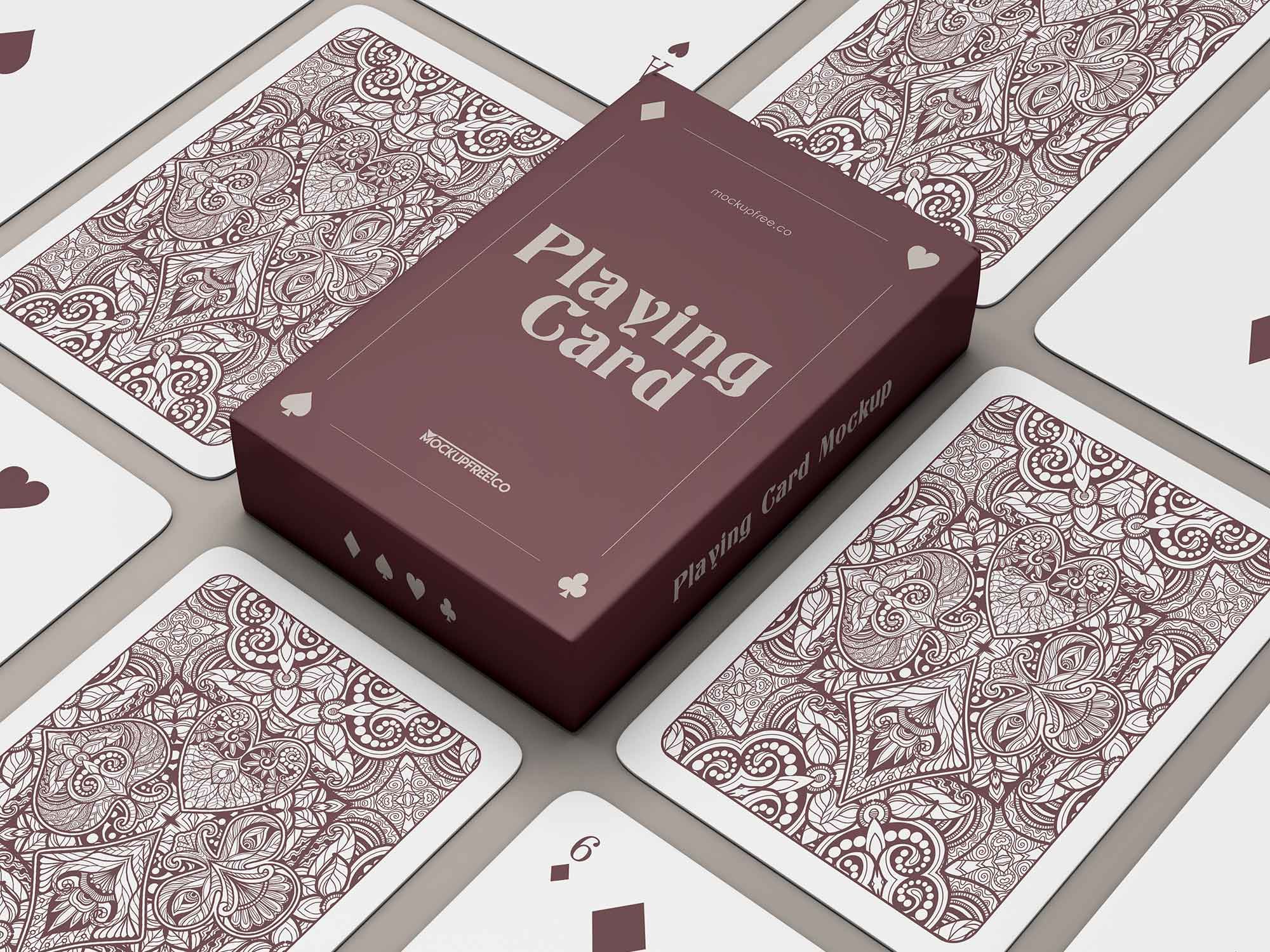 Playing Cards Mockup 2