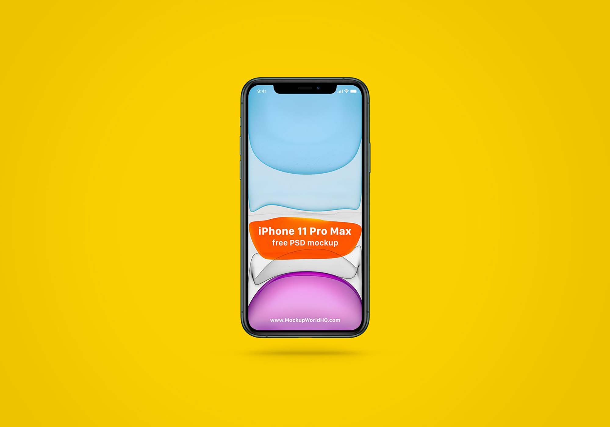 Simple iPhone 11 Pro Max Mockup
