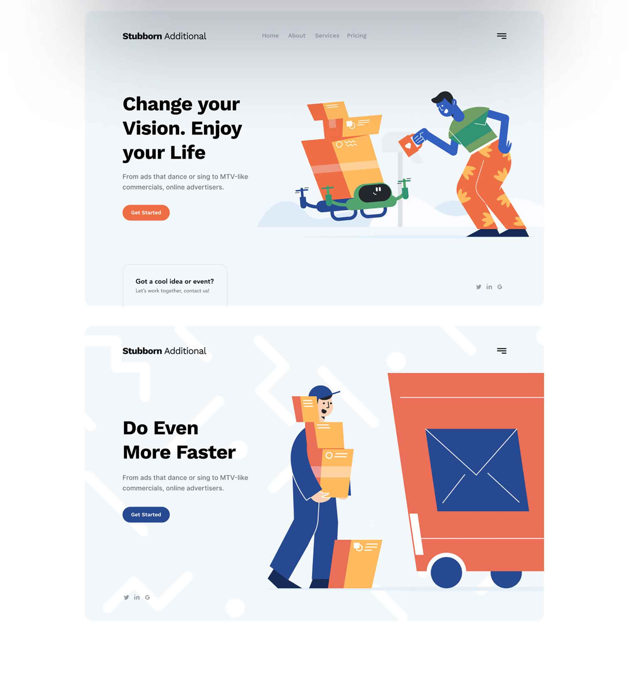 Unruly Landing Page Illustration 6
