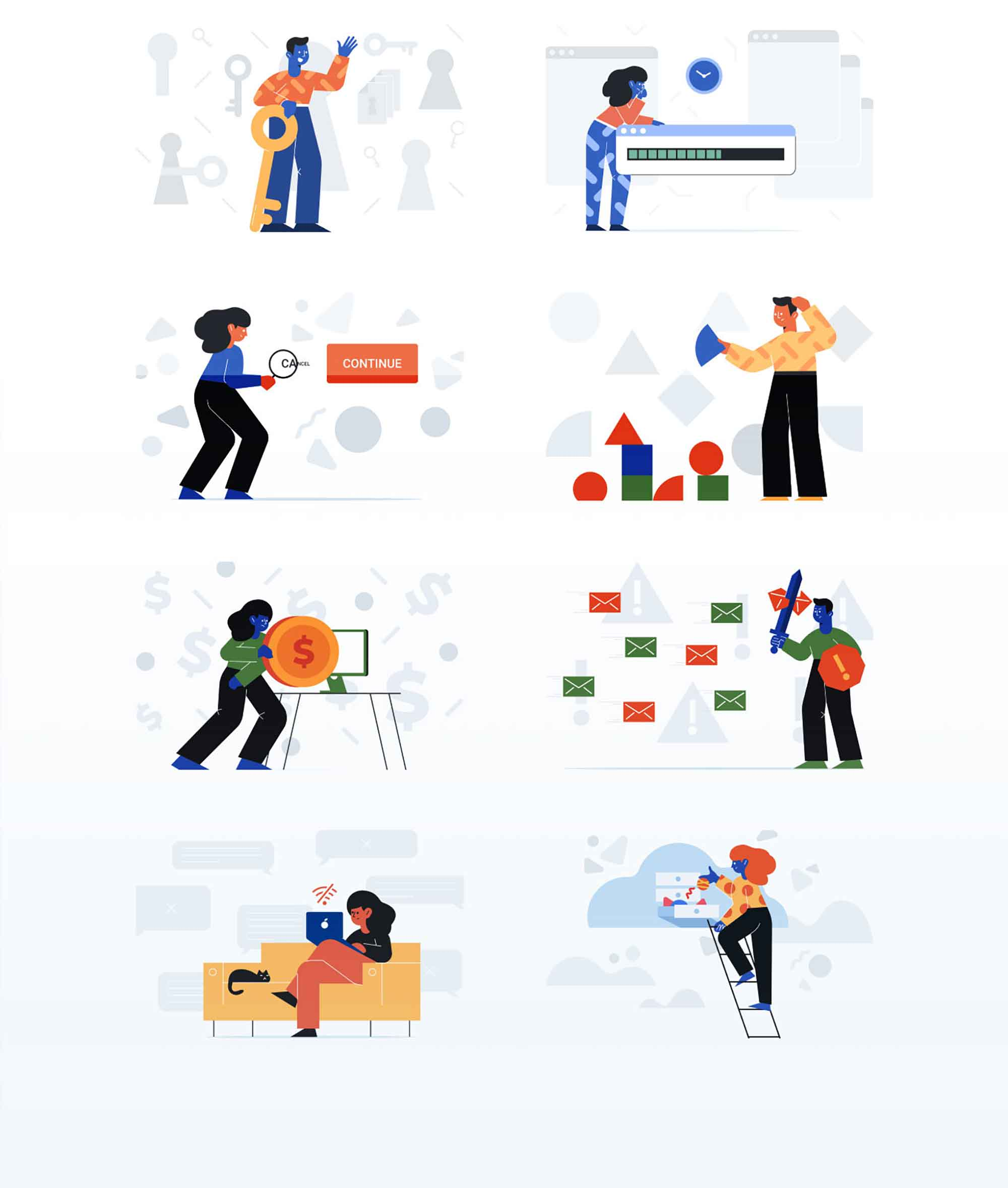 Unruly Landing Page Illustration 9