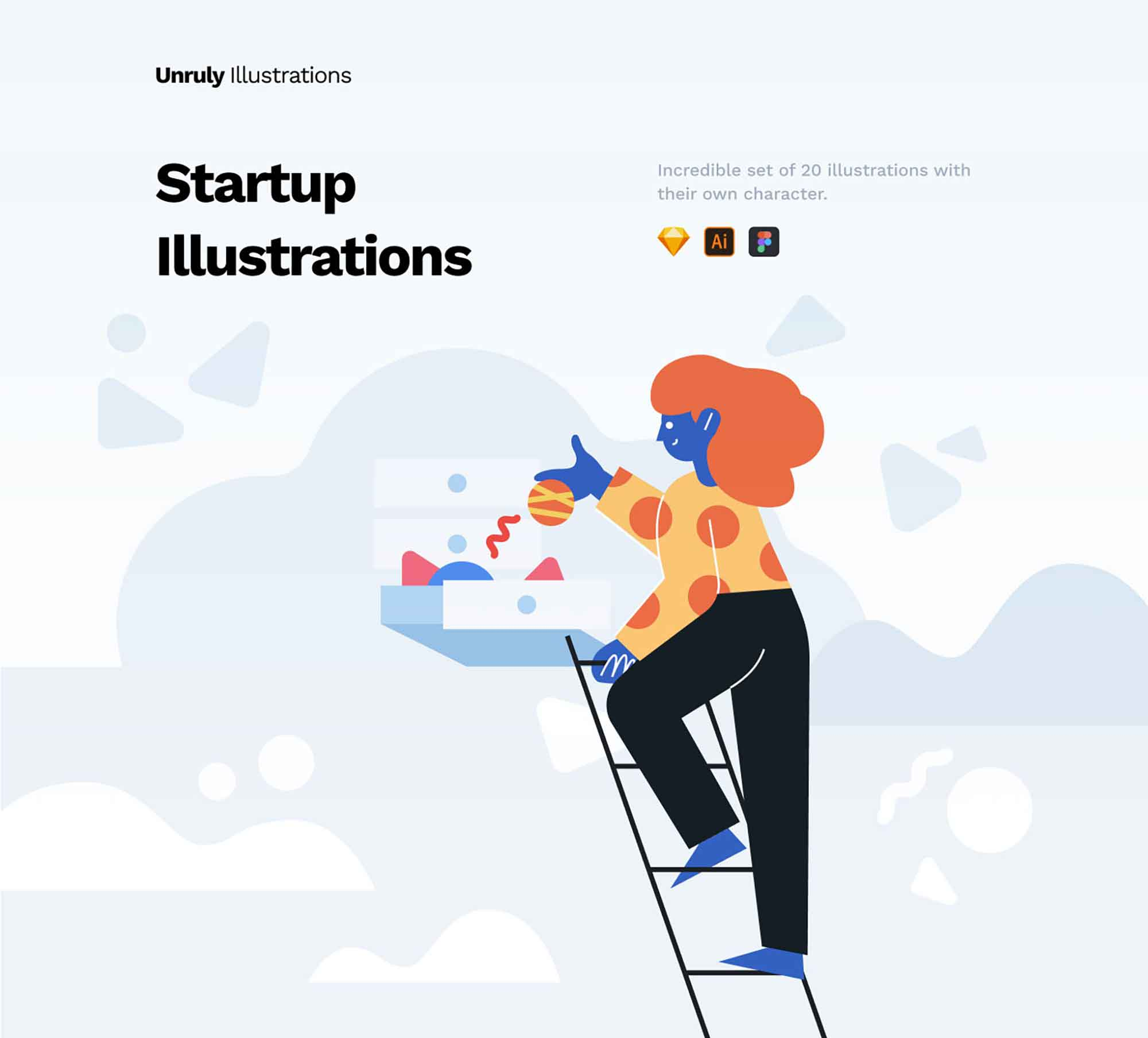 Unruly Landing Page Illustration