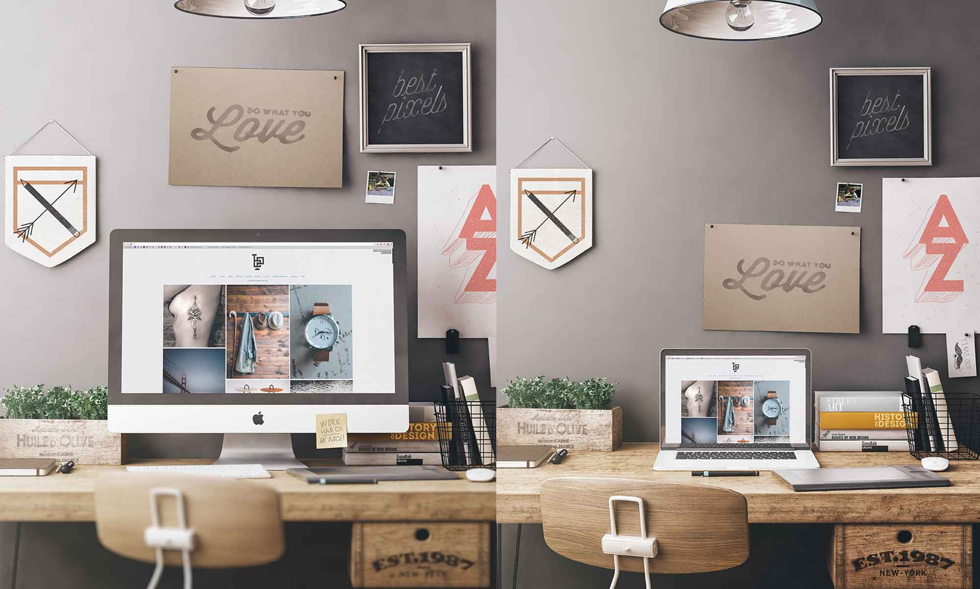 Workspace Mockup 3
