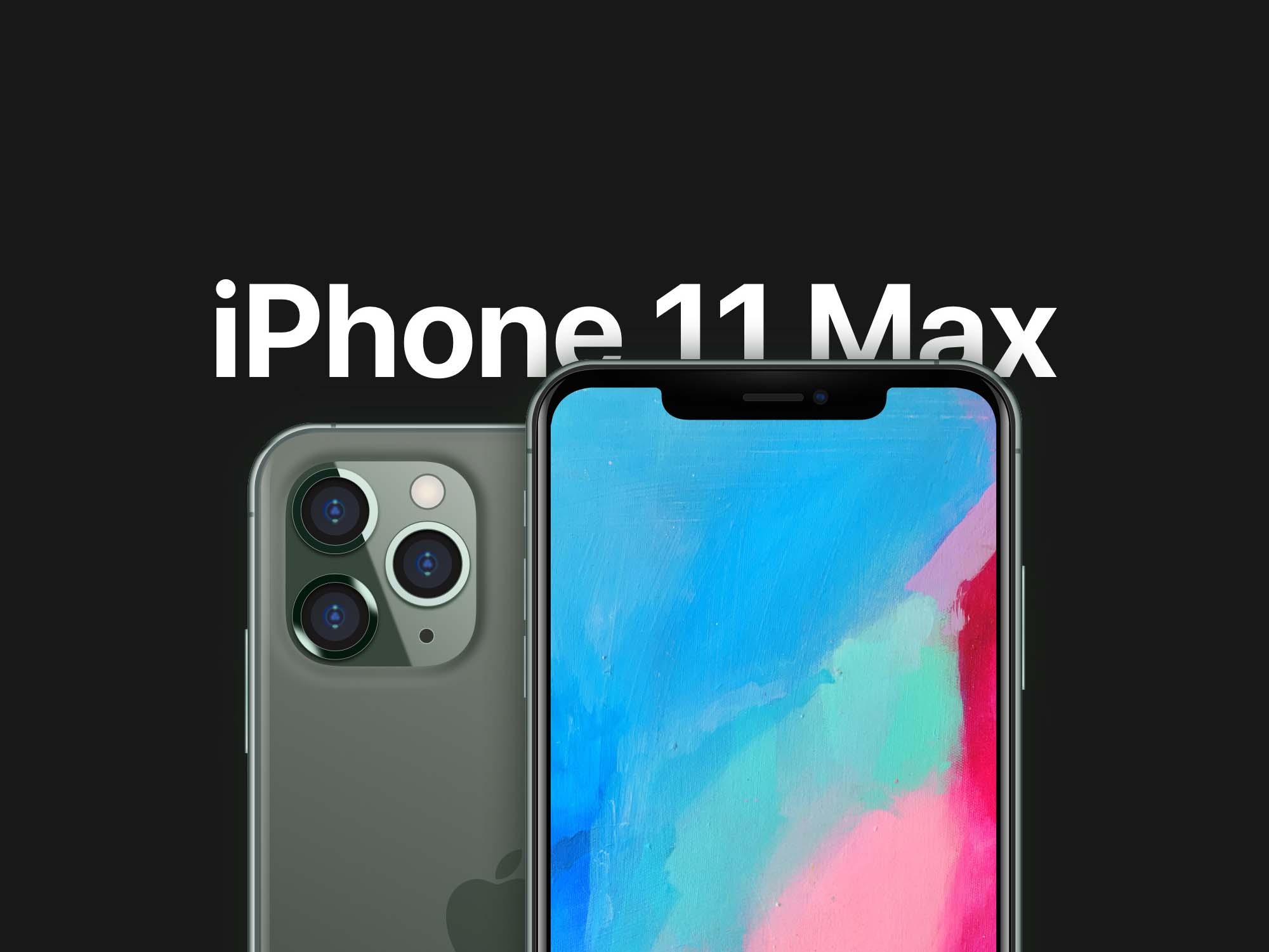 iPhone 11 Mockup - Sketch 2