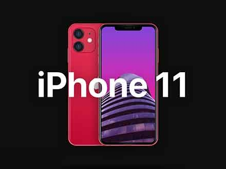 iPhone 11 Mockup - Sketch
