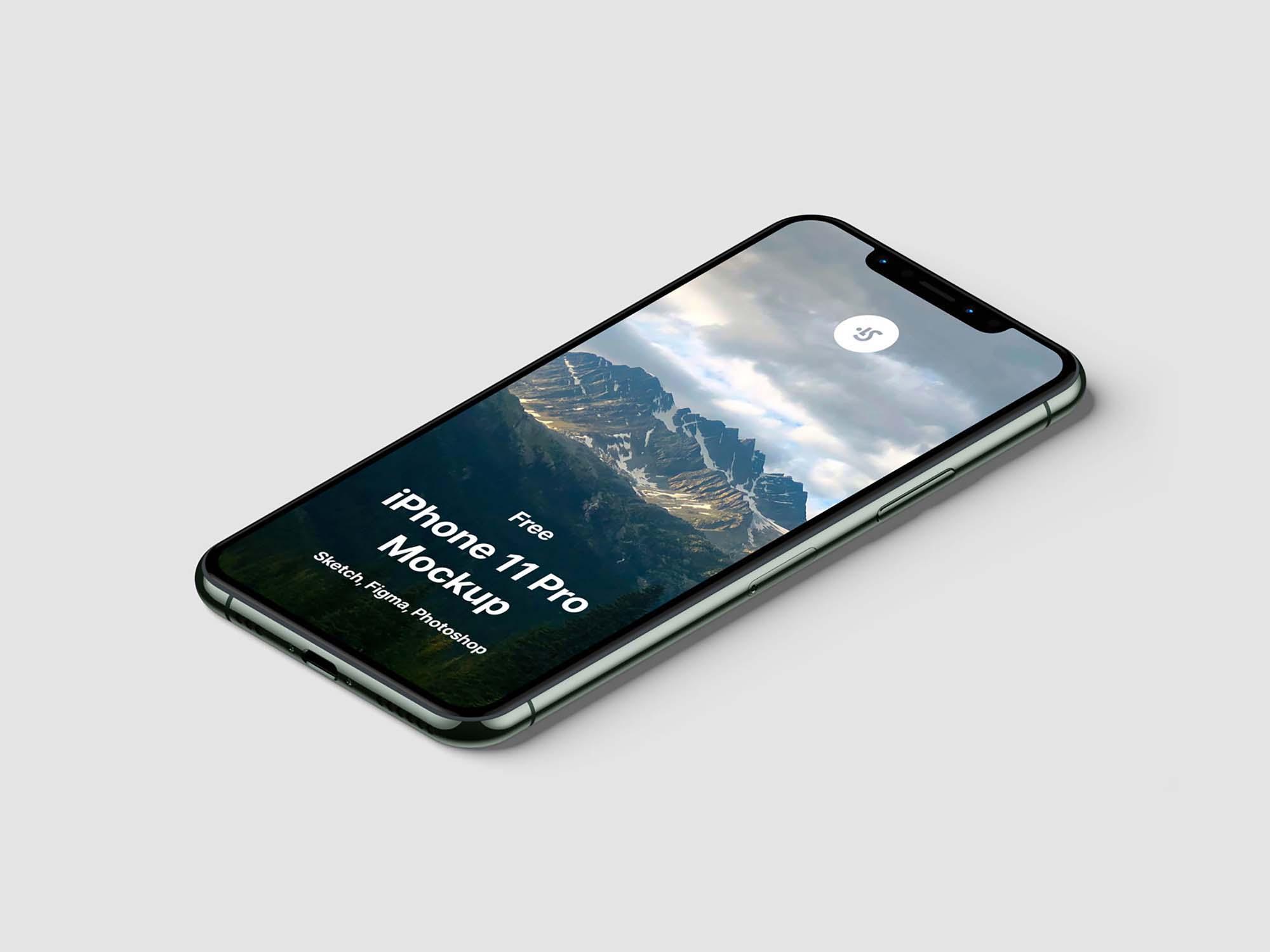 iPhone 11 Pro Max Mockup