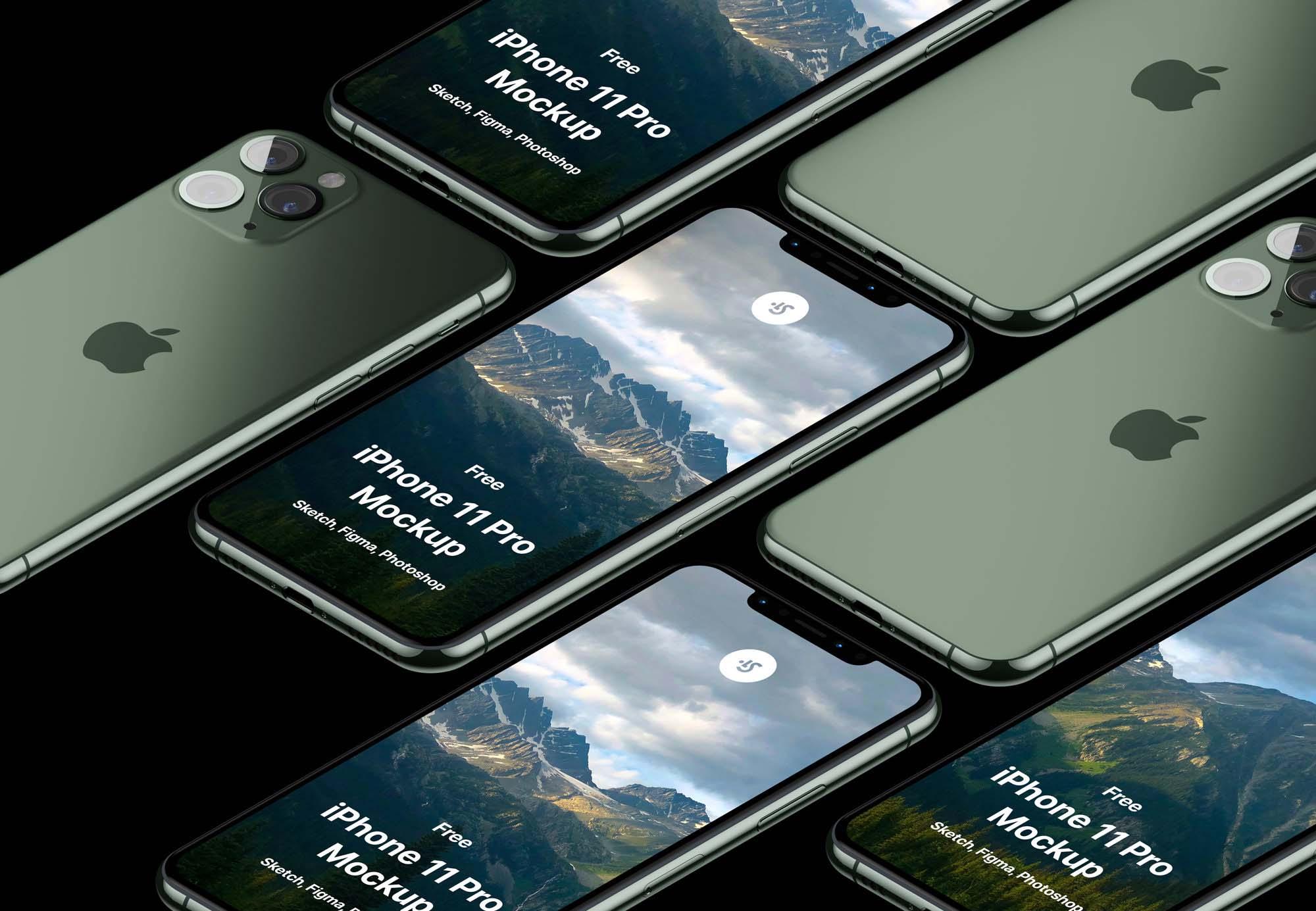 iPhone 11 Pro Max Mockup 3