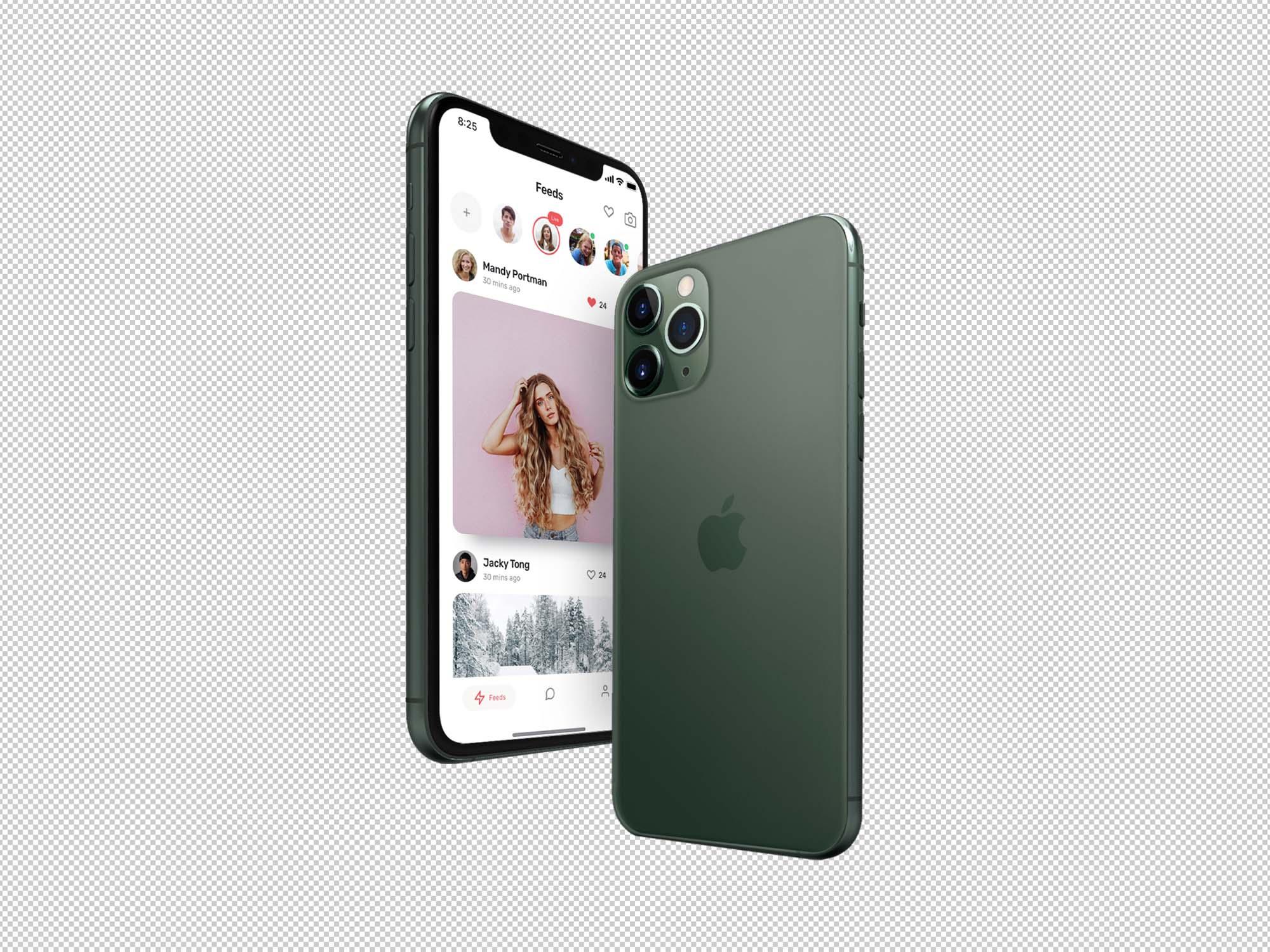 iPhone 11 Pro Mockup 2