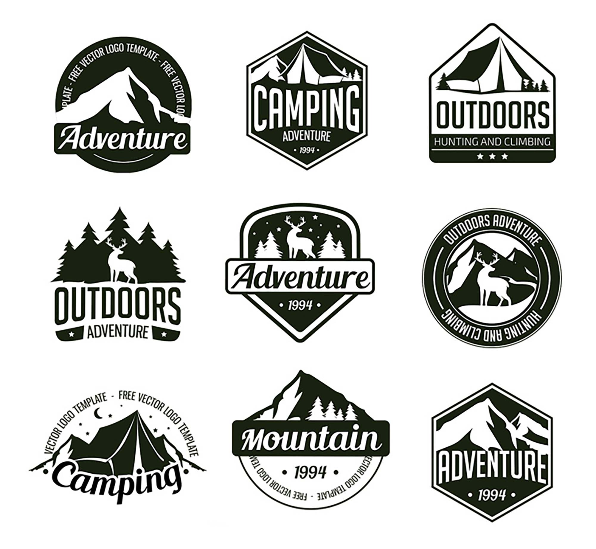 Adventure Logo Templates