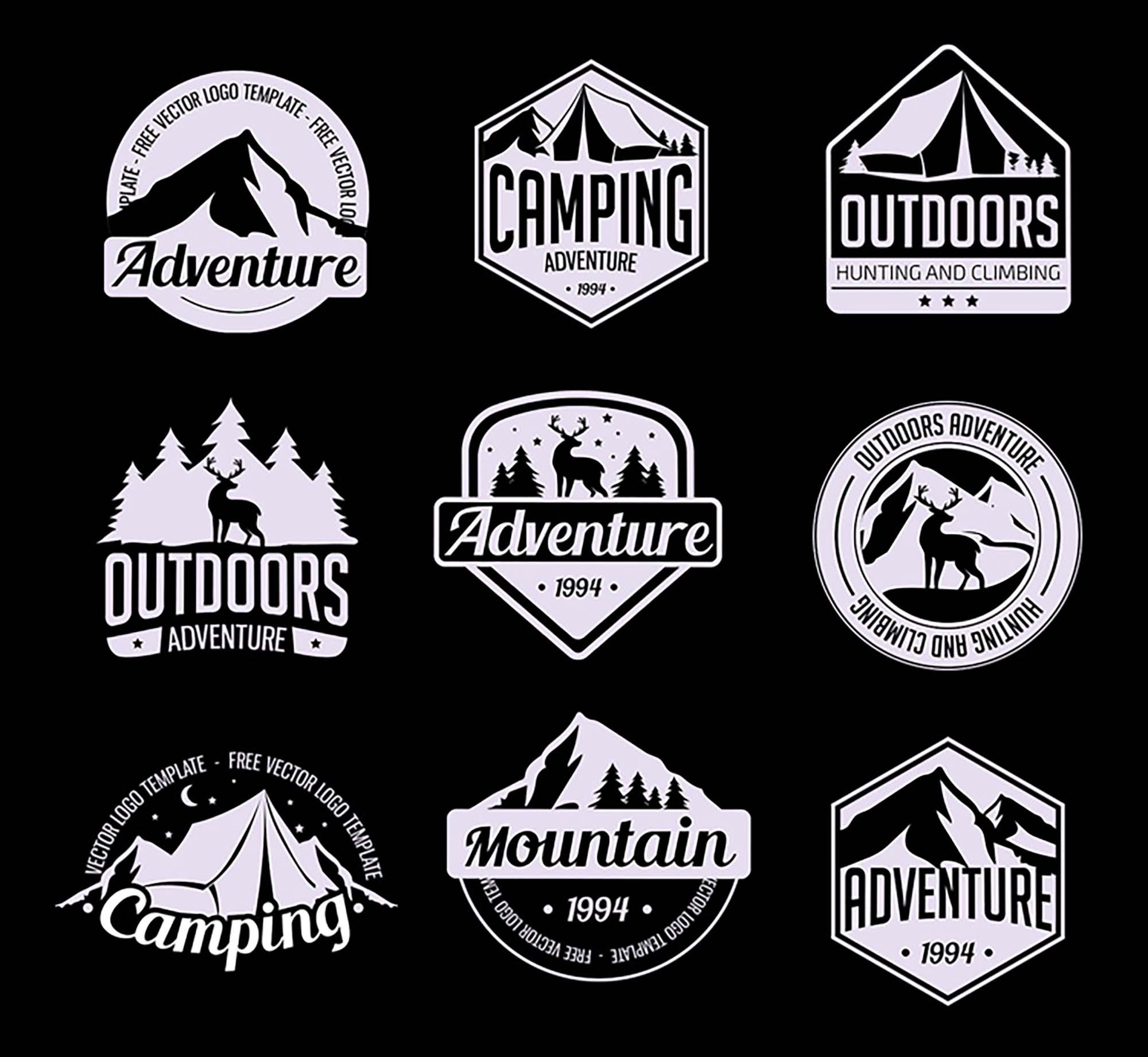 Adventure Logo Templates