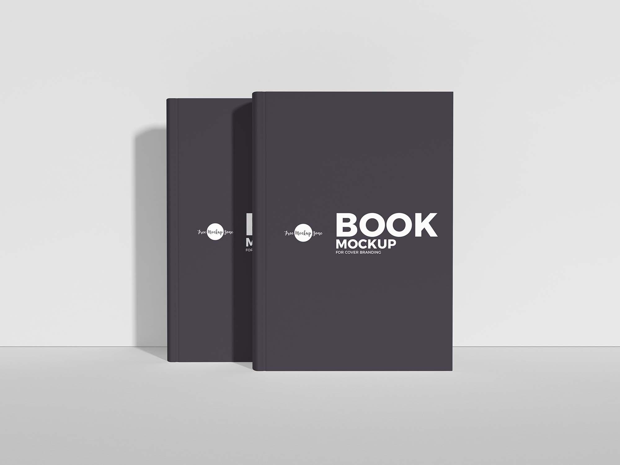 Book Cover Branding Mockup 2
