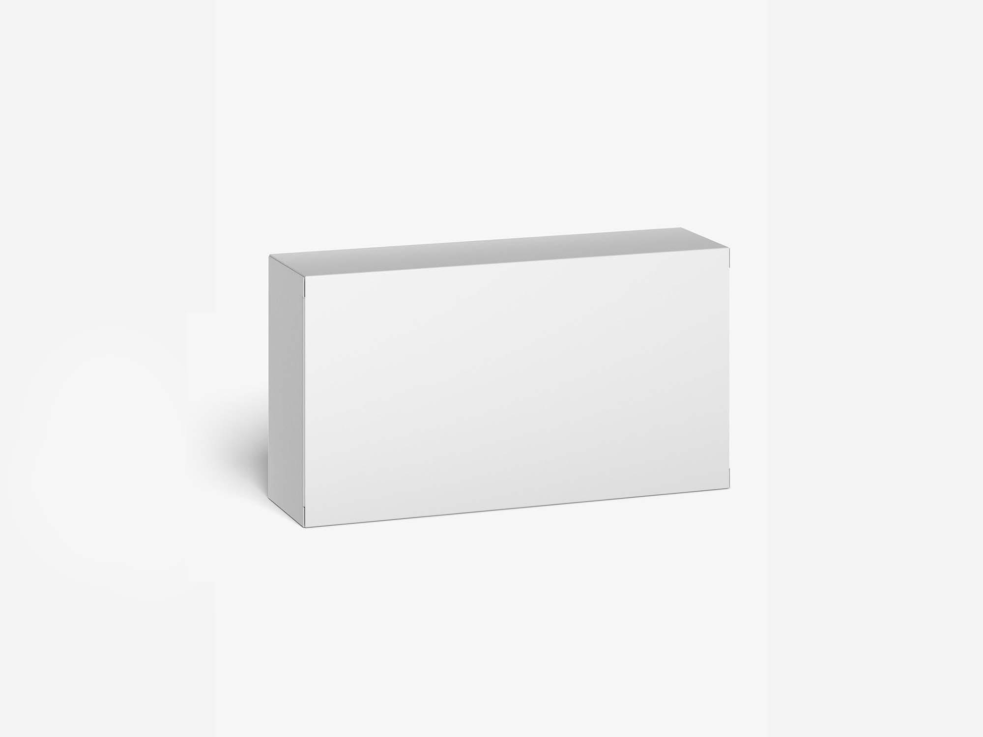 Cardboard Box Mockup 3