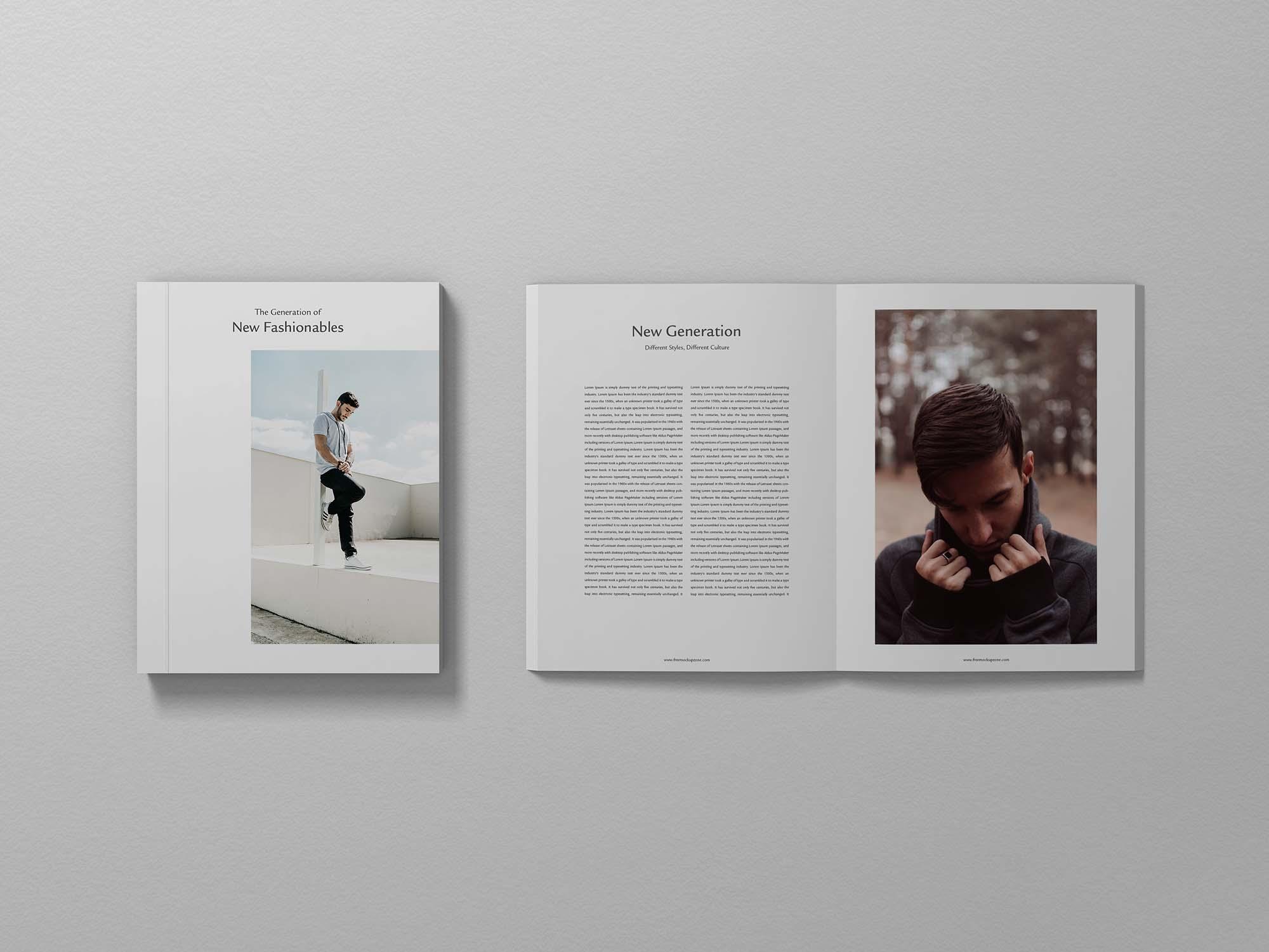 Branding Magazine Mockup