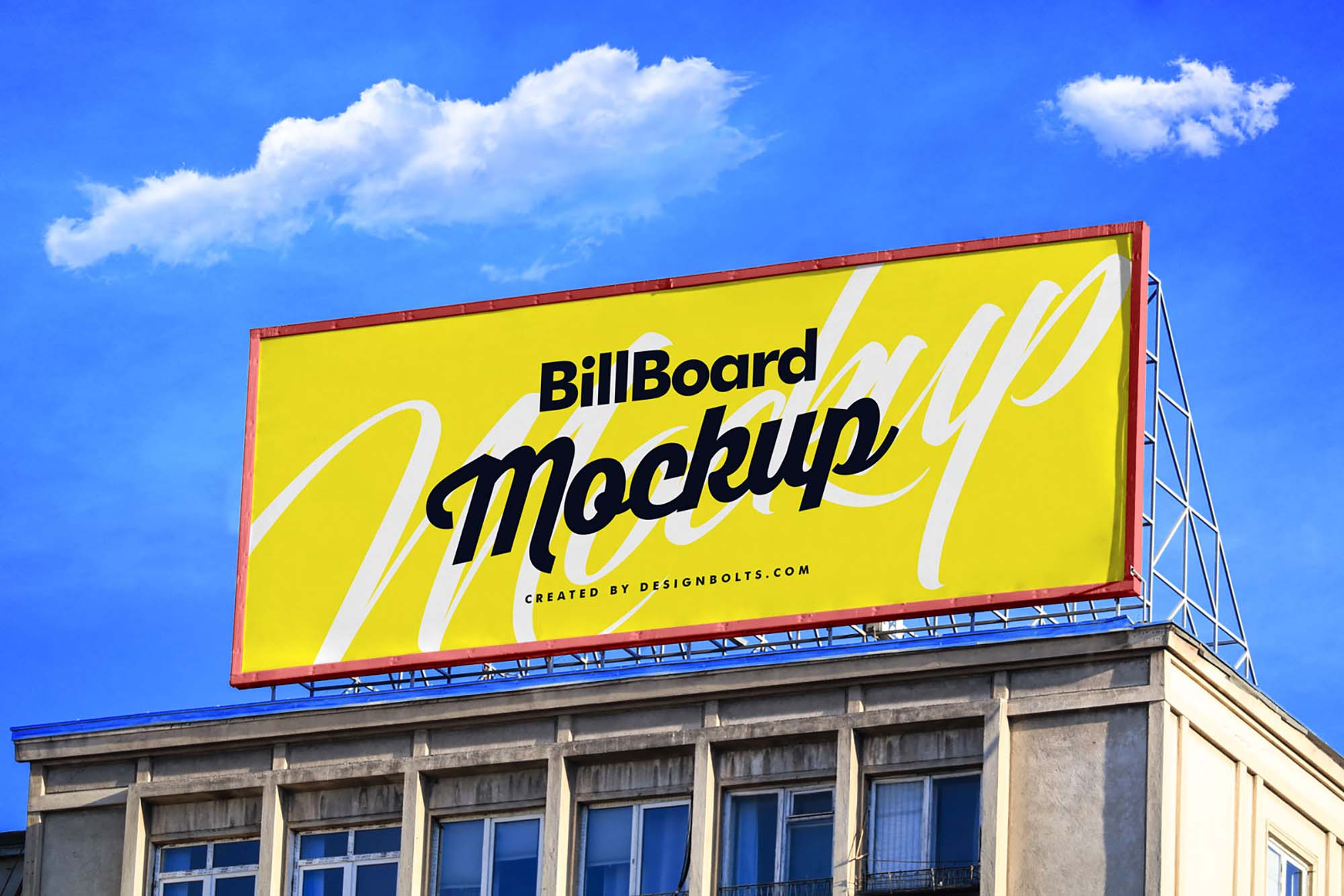 Building Billboard Mockup
