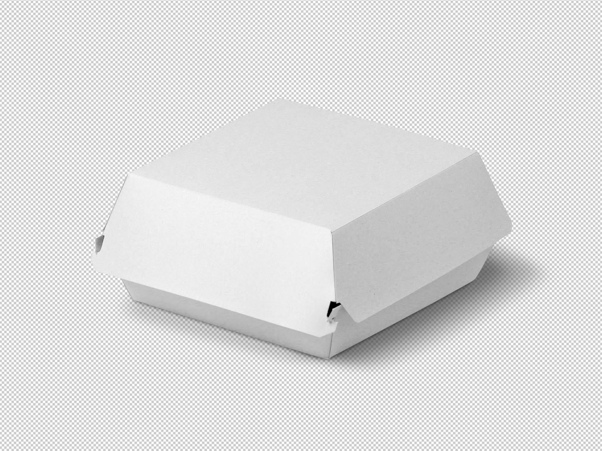 Burger Packaging Mockup 2