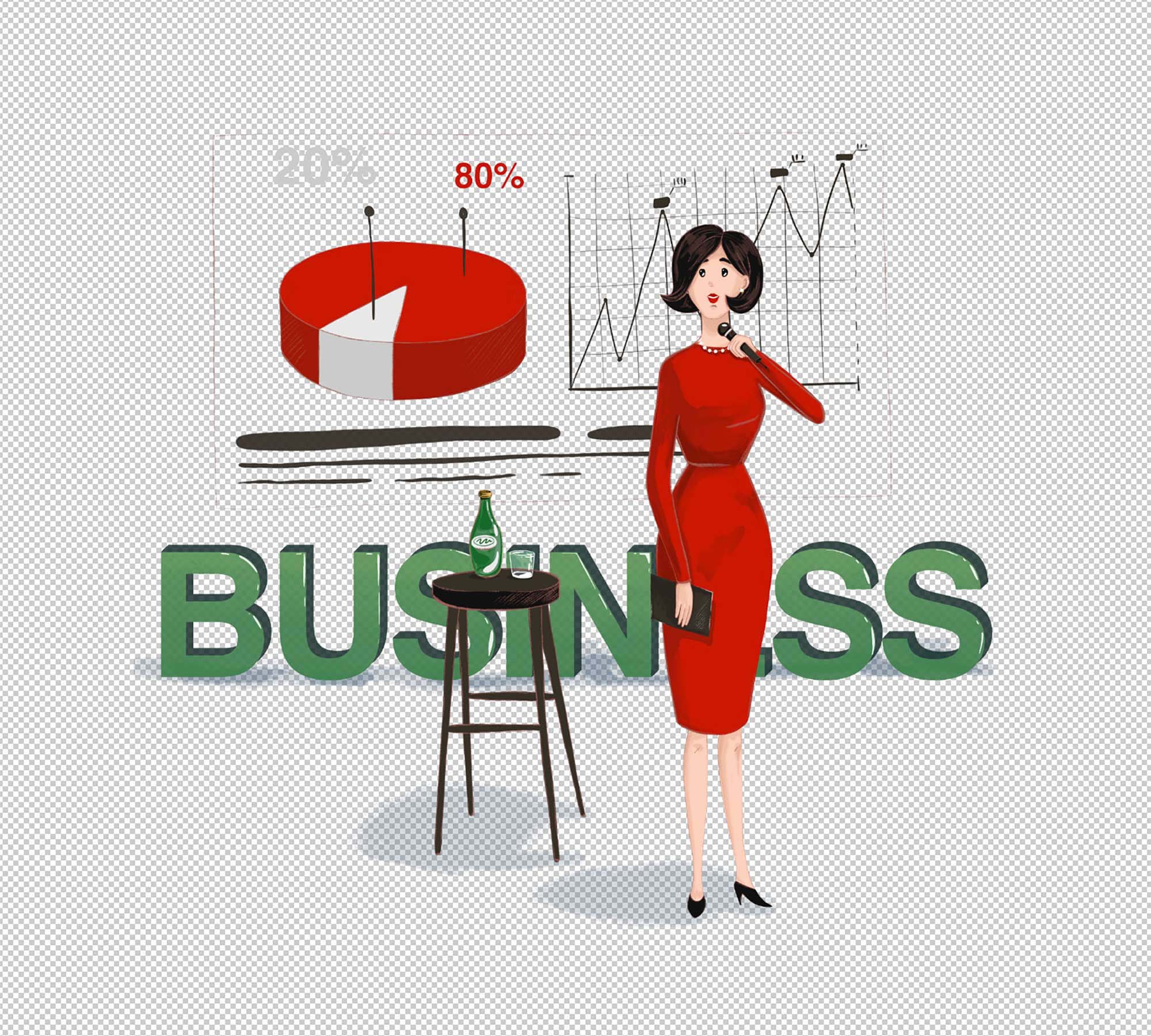 Business Conference Illustration 2