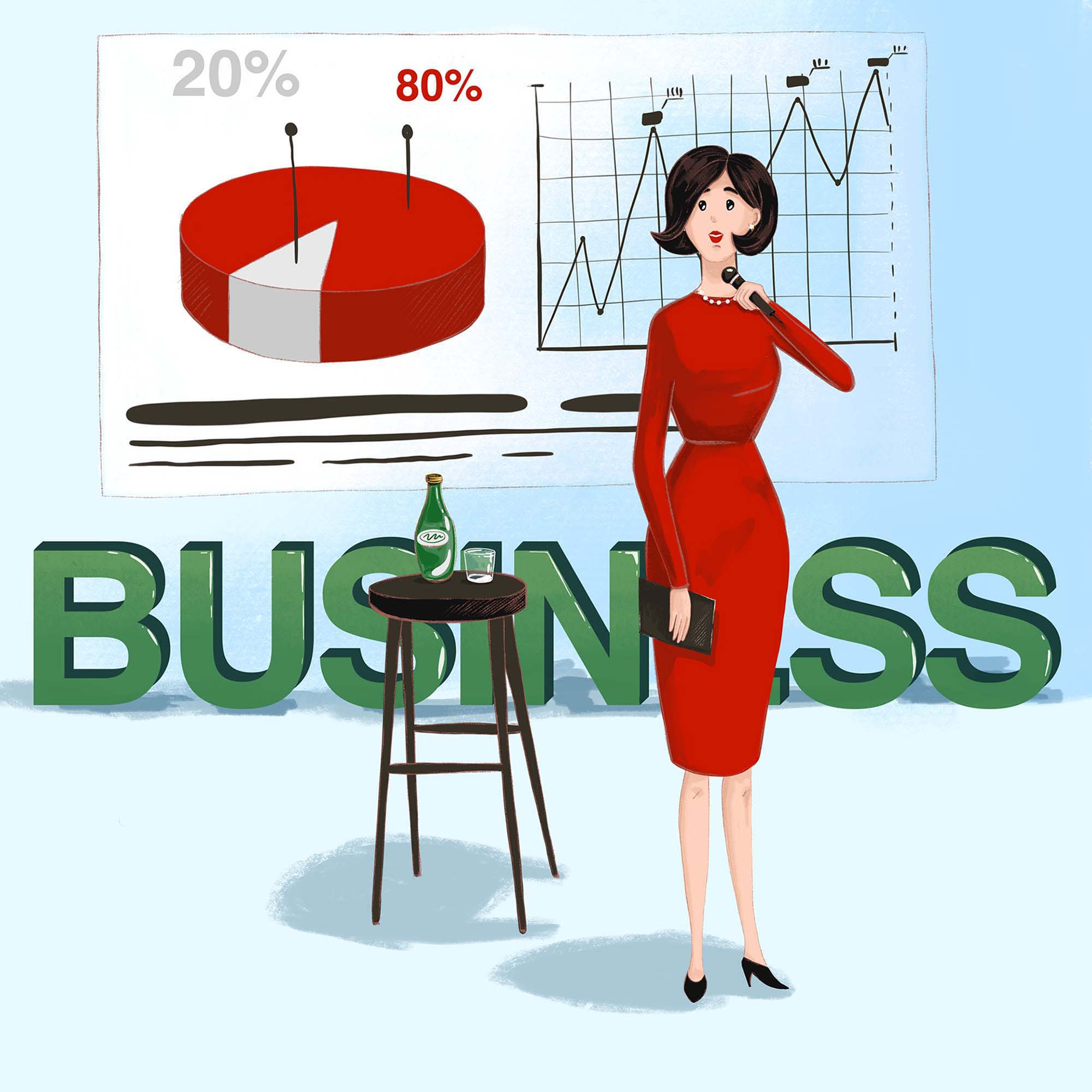 Business Conference Illustration