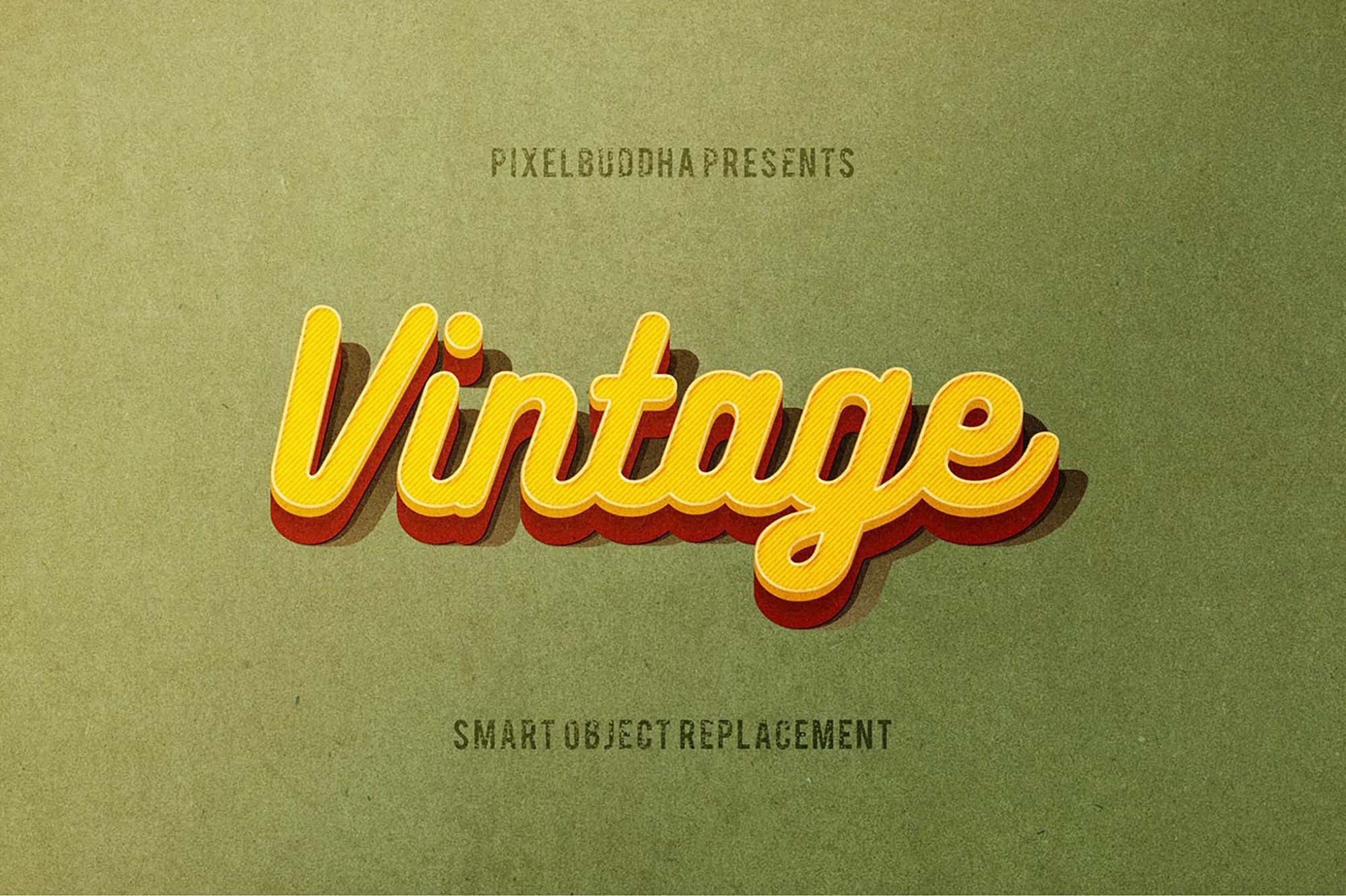 Classic Vintage Text Effects