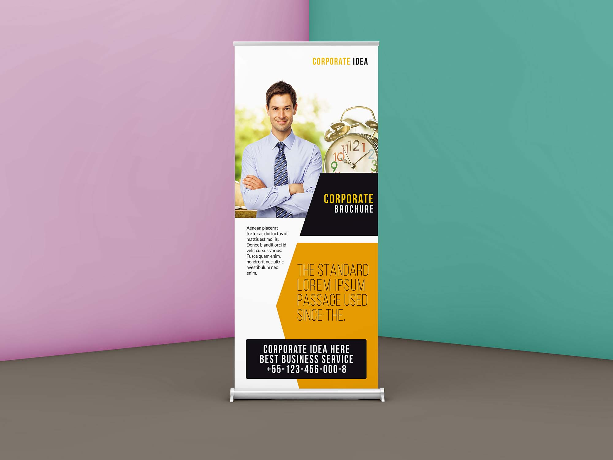 Corporate Business Roll up Banner Template 2