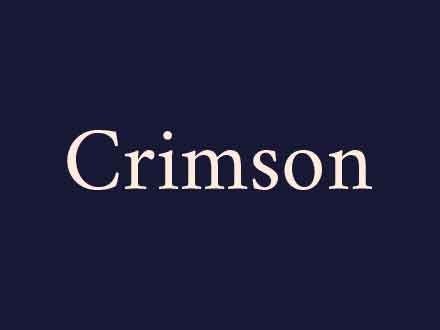 Crimson Typeface