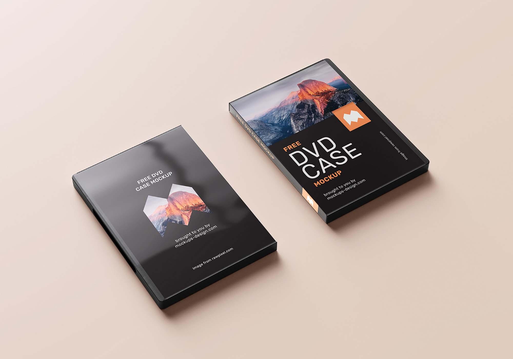 DVD Case Mockup 2