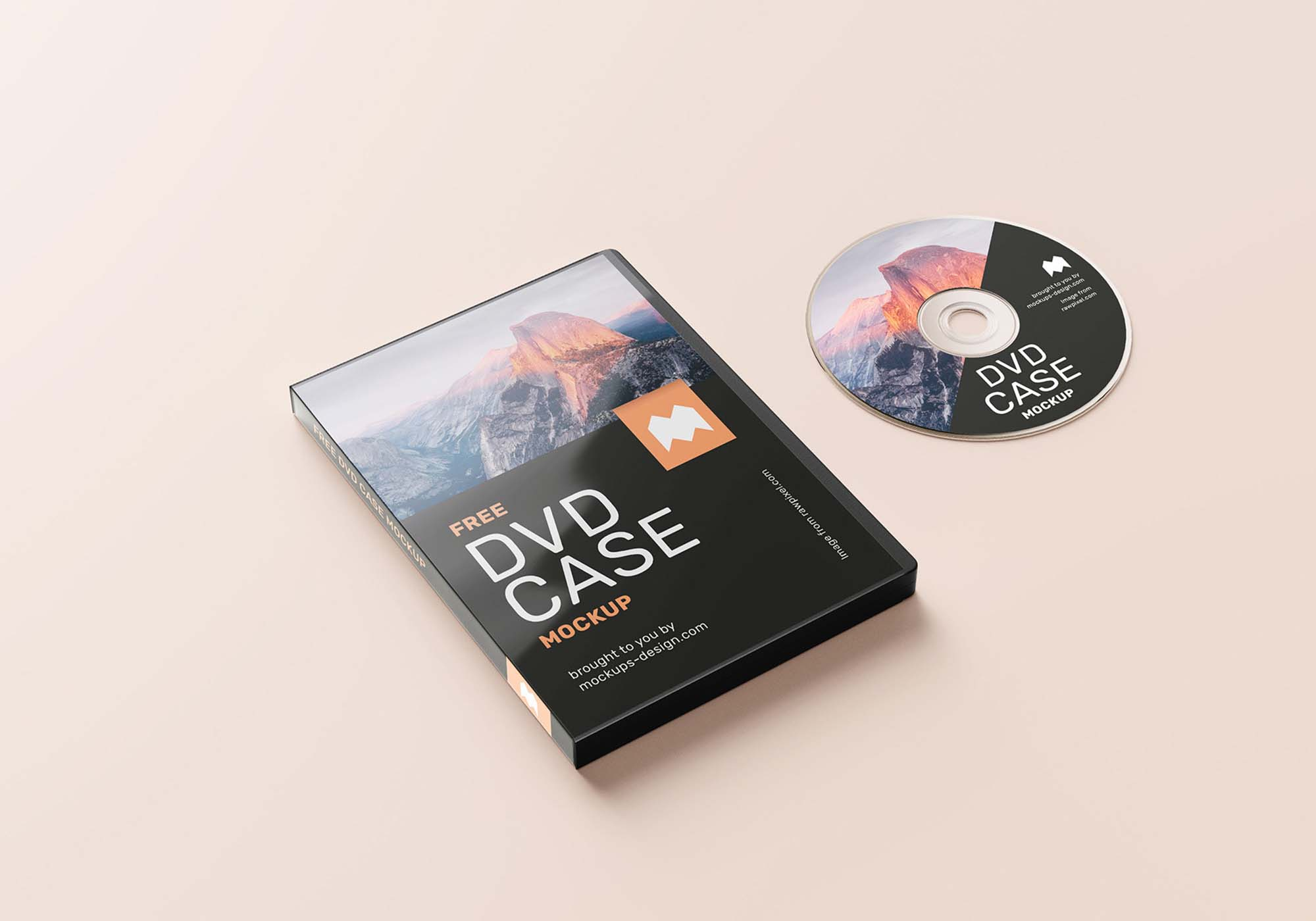 DVD Case Mockup 3