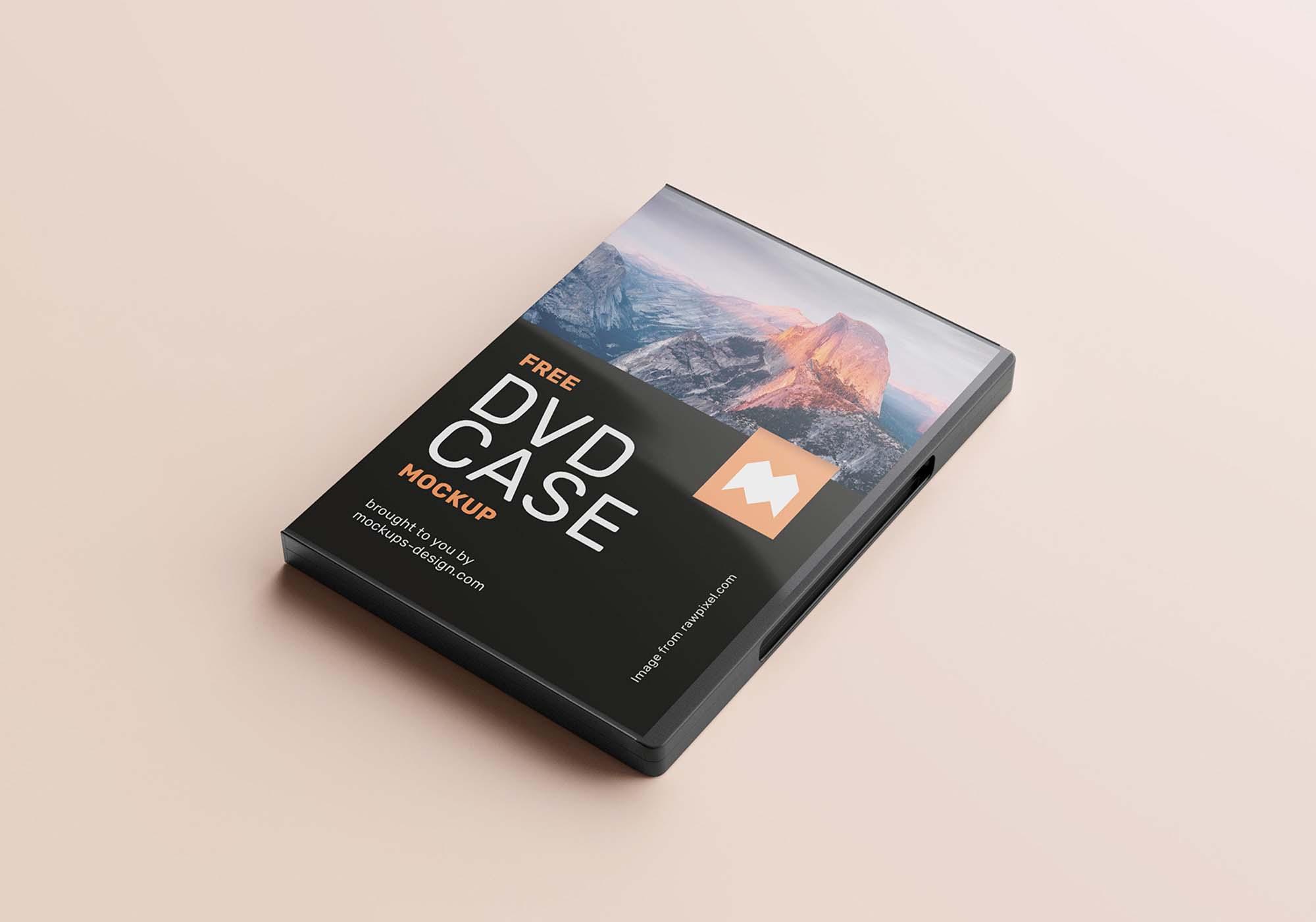 DVD Case Mockup 4