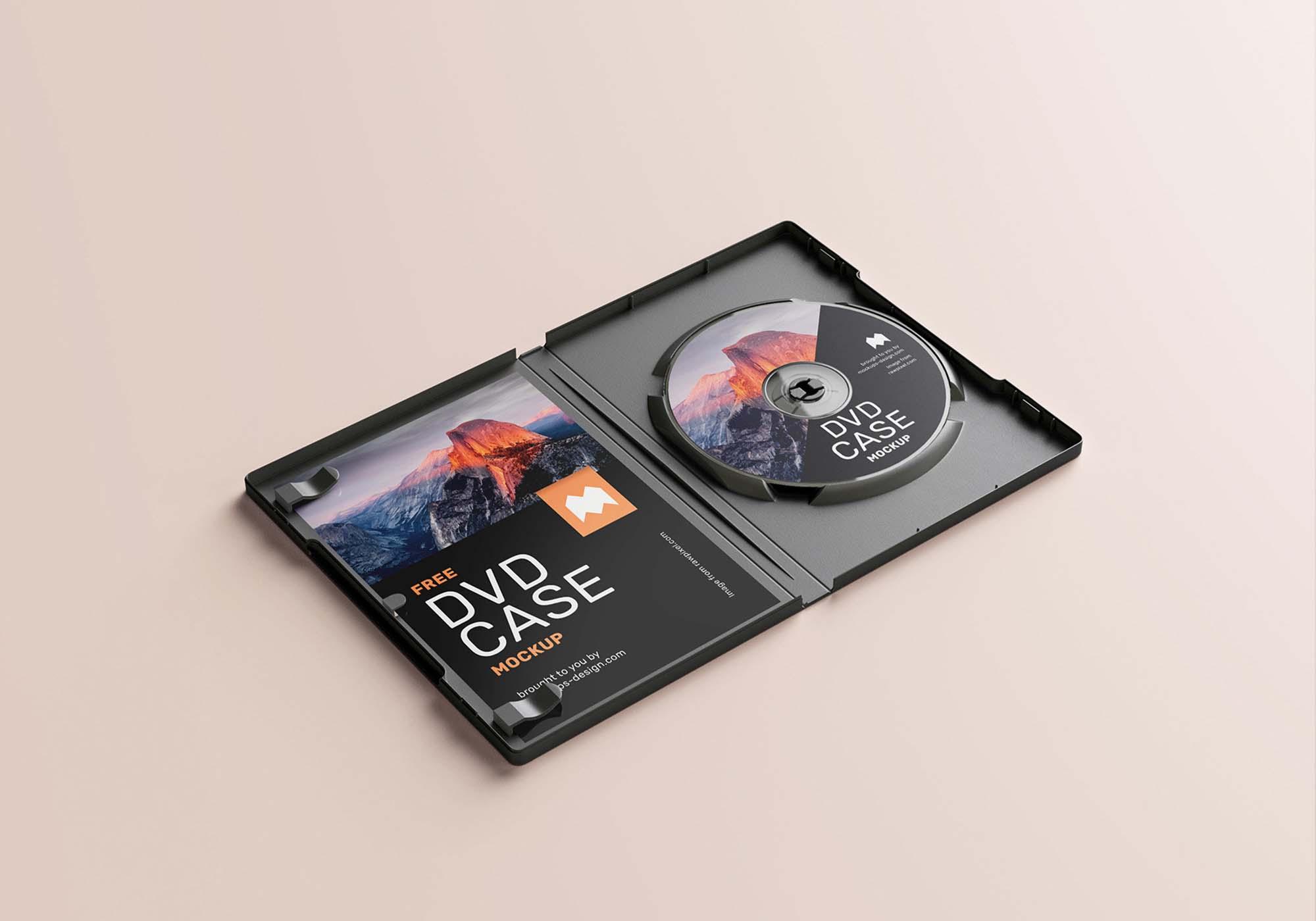 DVD Case Mockup 5