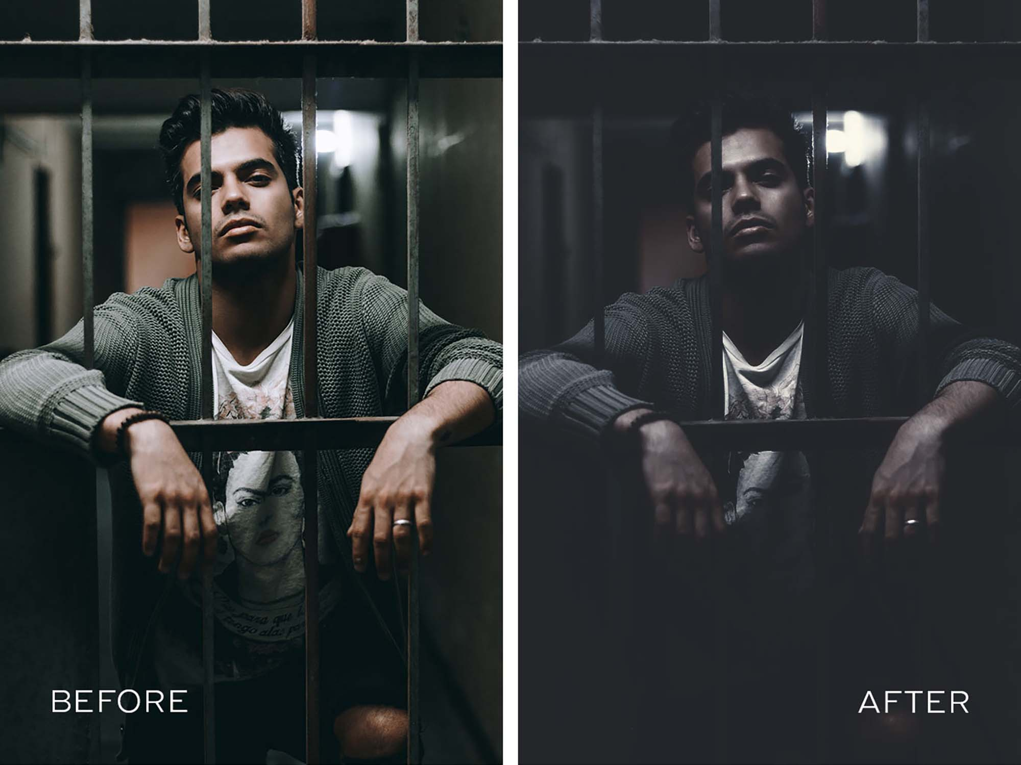 Dark Mood Photoshop Action 2