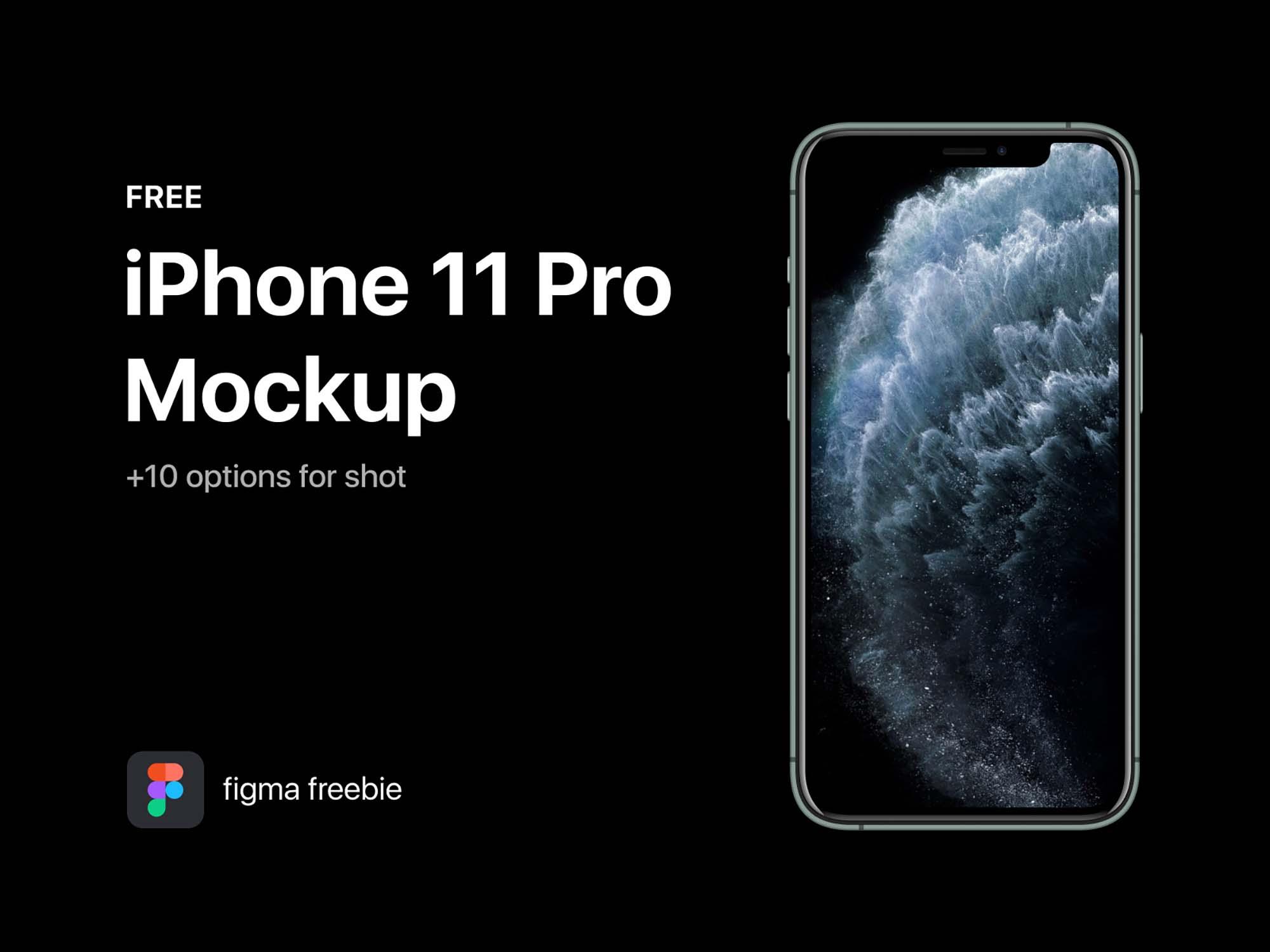 Figma iPhone 11 Pro Mockup