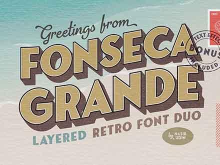 Fonseca Grande Font