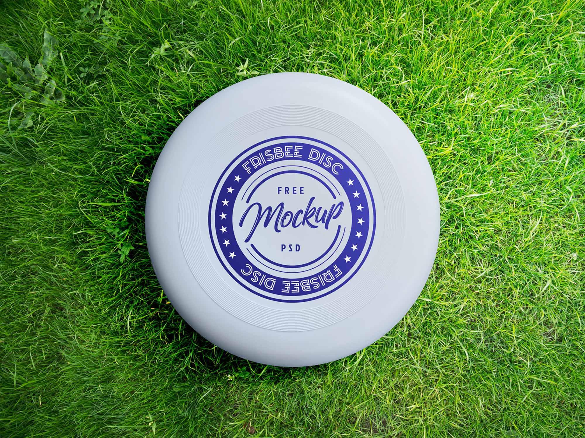Frisbee Mockup