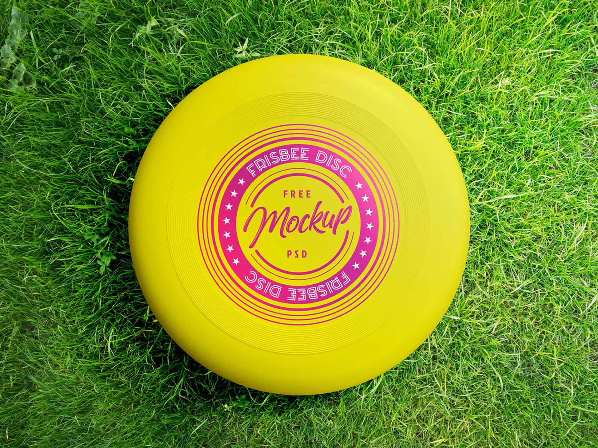 Frisbee Mockup 2