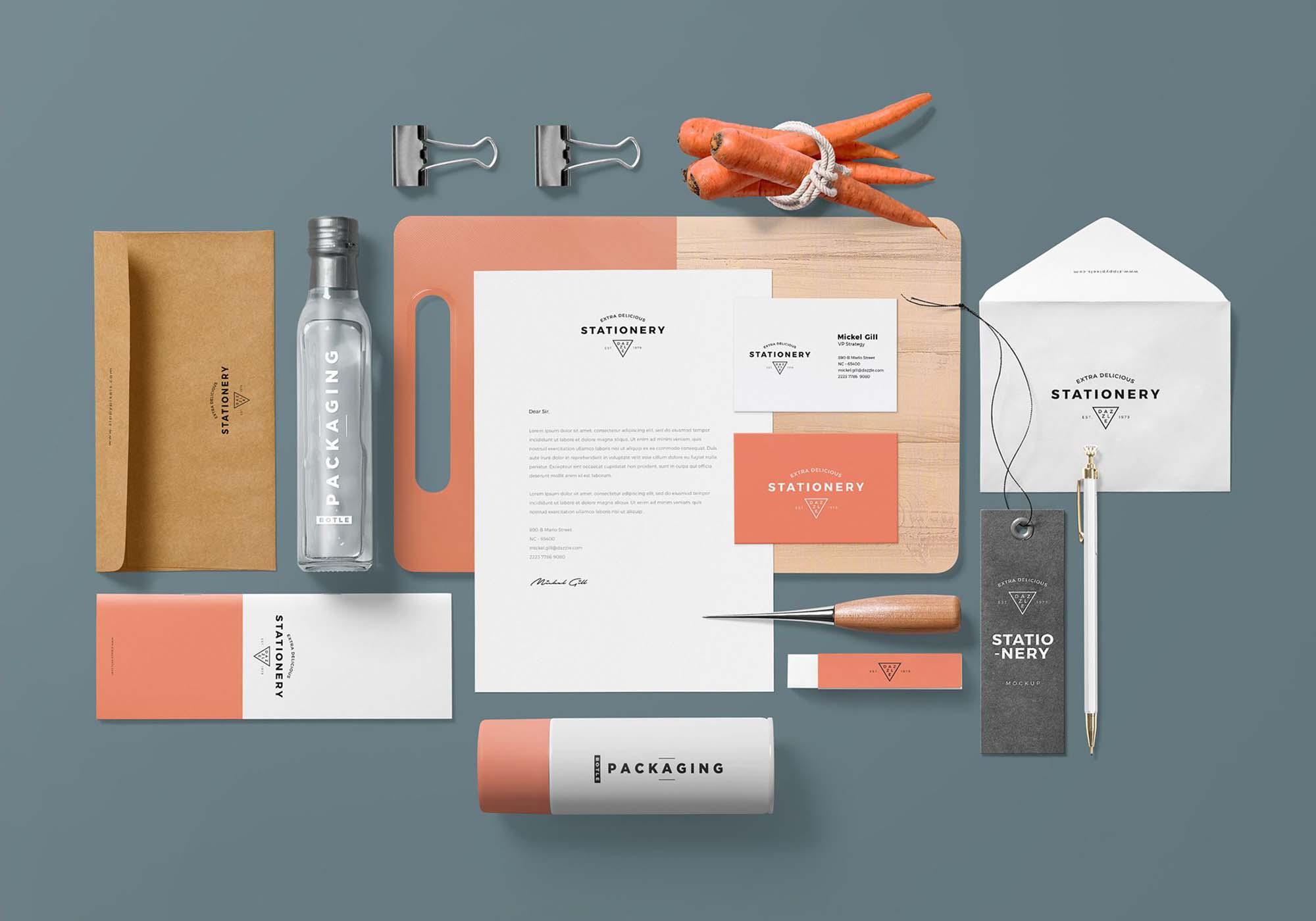 Gorgeous Branding Mockup 2
