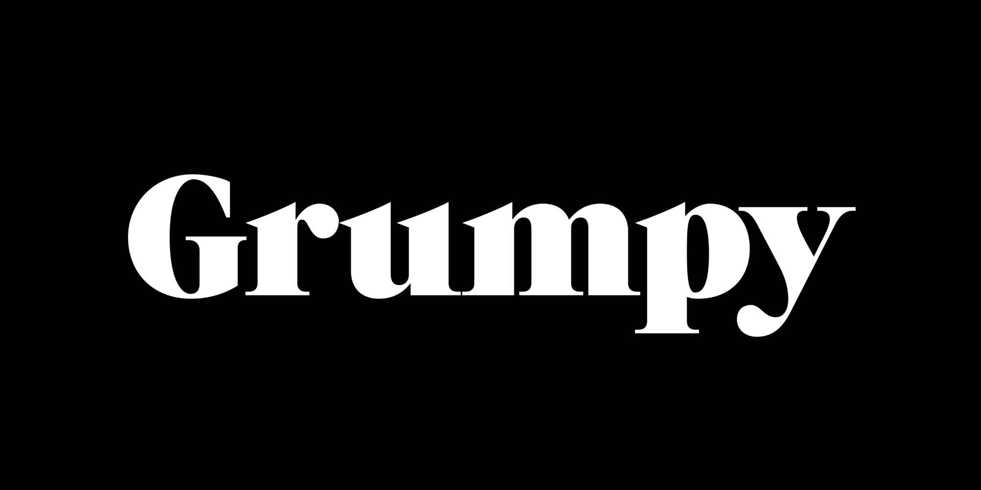 Grumpy Font