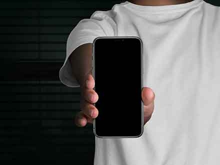 Handheld iPhone 11 Pro Mockup