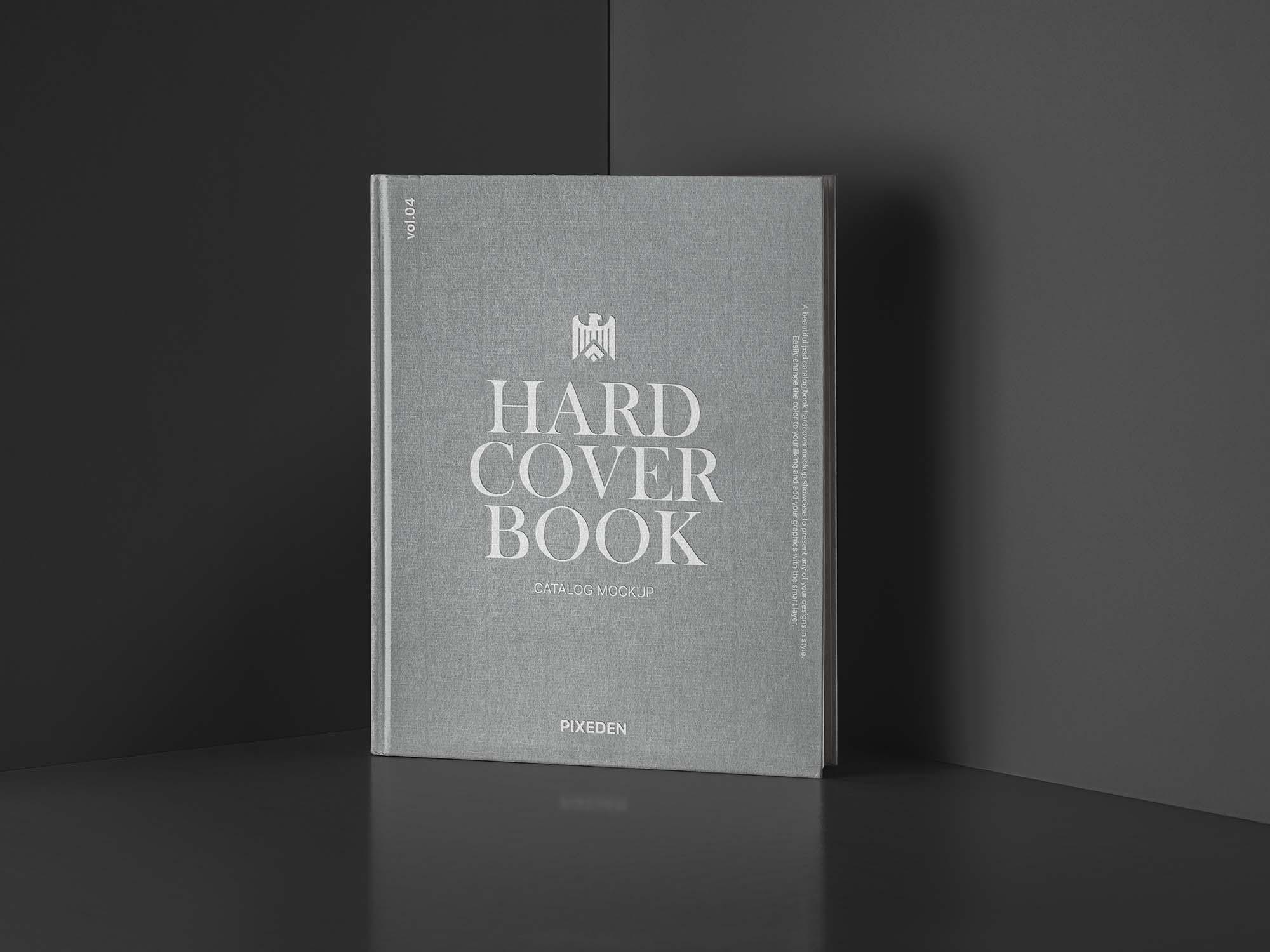 Hardcover Catalog Book Mockup 2