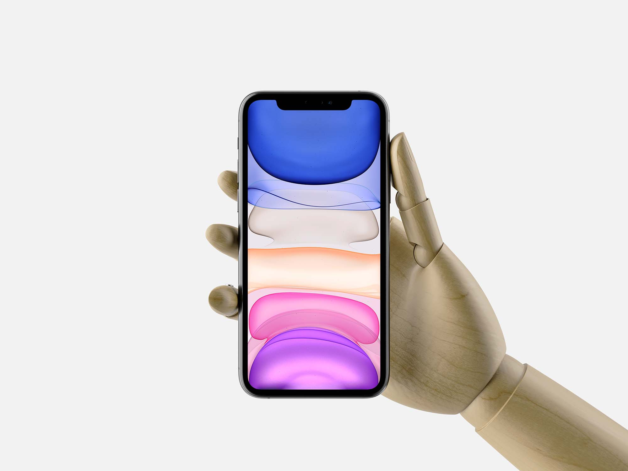 In Hand iPhone 11 Pro Max Mockup