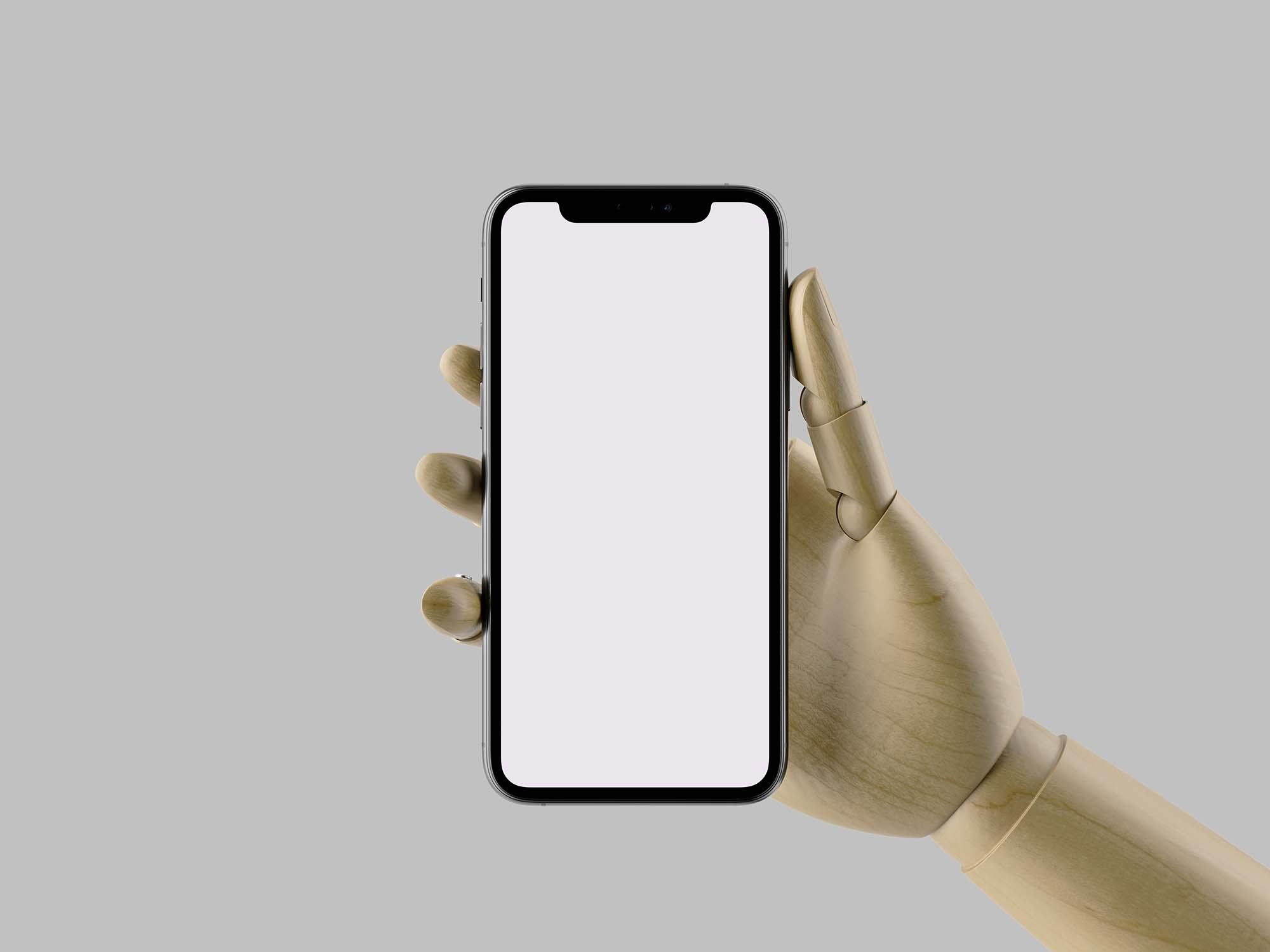 In Hand iPhone 11 Pro Max Mockup 2