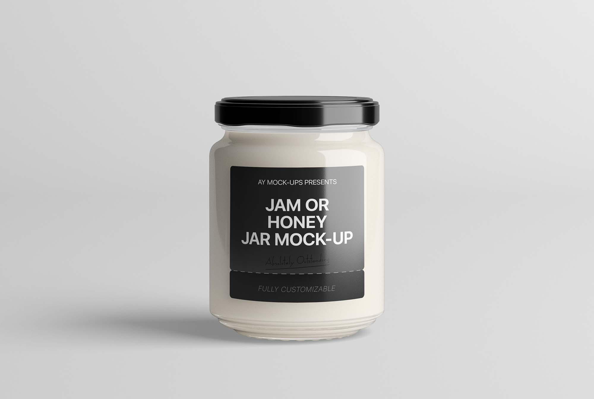 Jam Jar Mockup 2