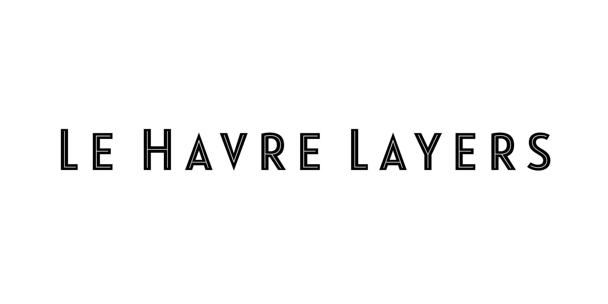 Le Harve Layers Font