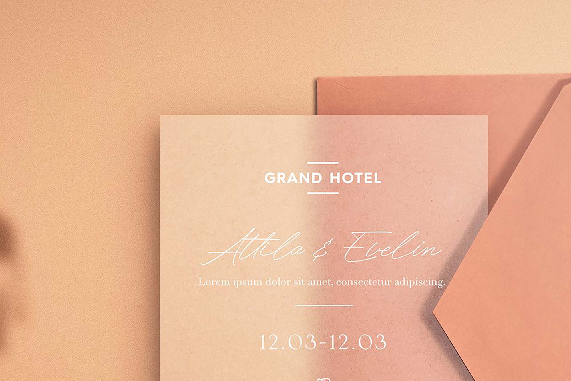 Leaflet Invitation Mockup 2