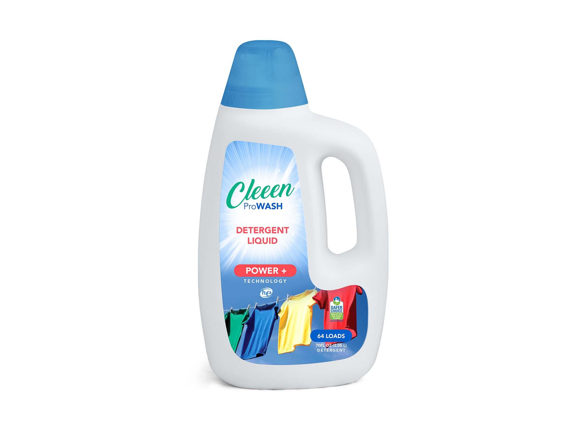 Liquid Detergent Bottle Mockup