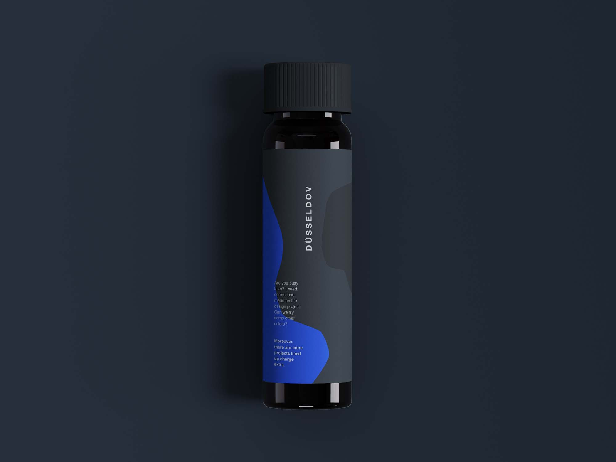 Mini Dropper Bottle Mockup 2