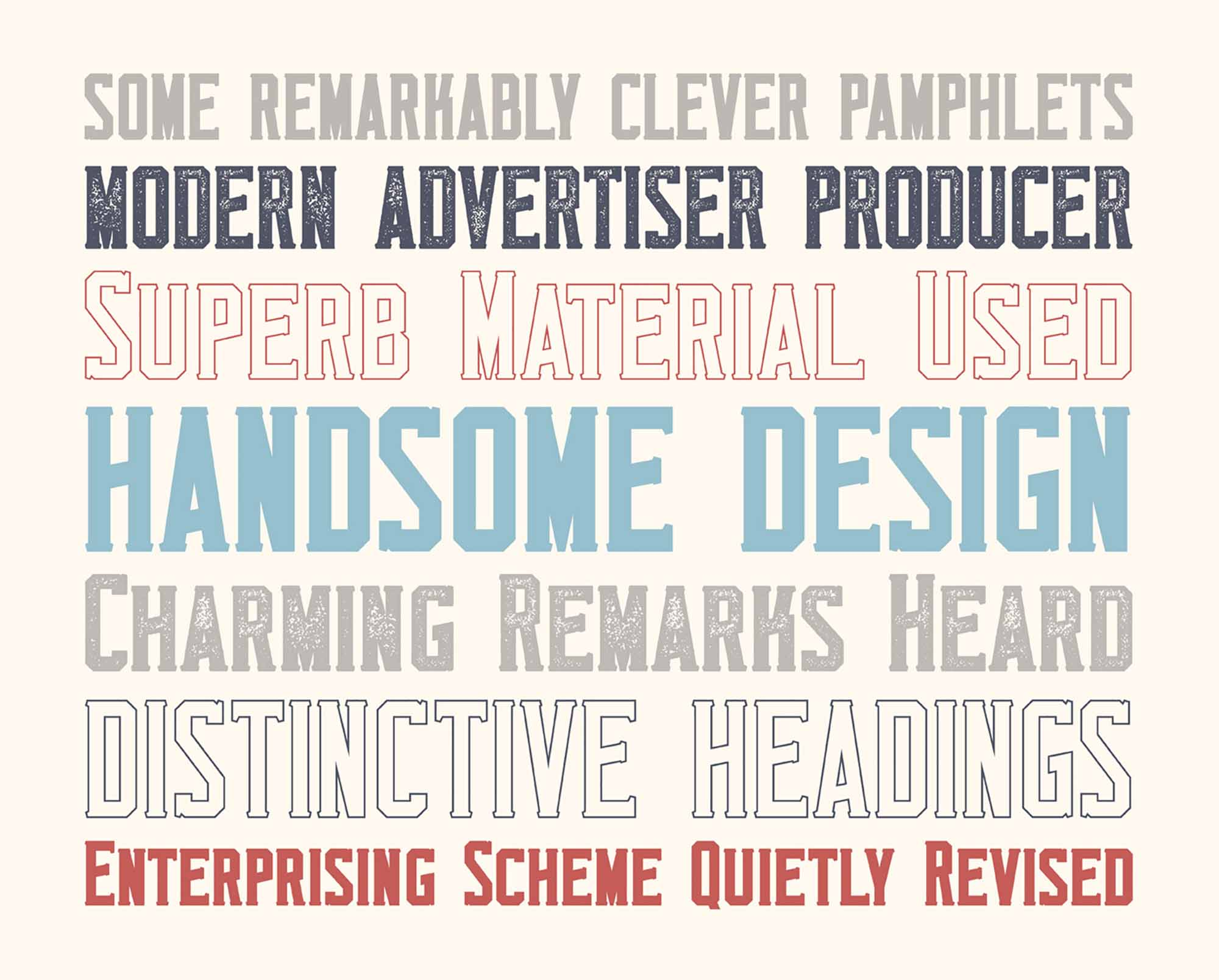 Monkstead Display Font