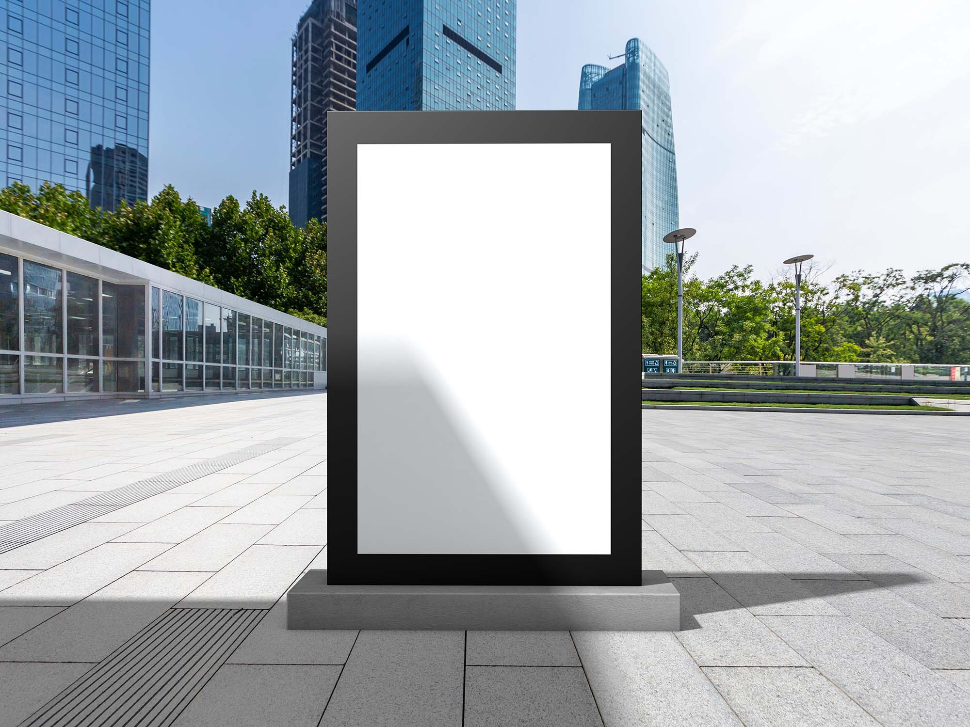 Outdoor Office Billboard Mockup 2
