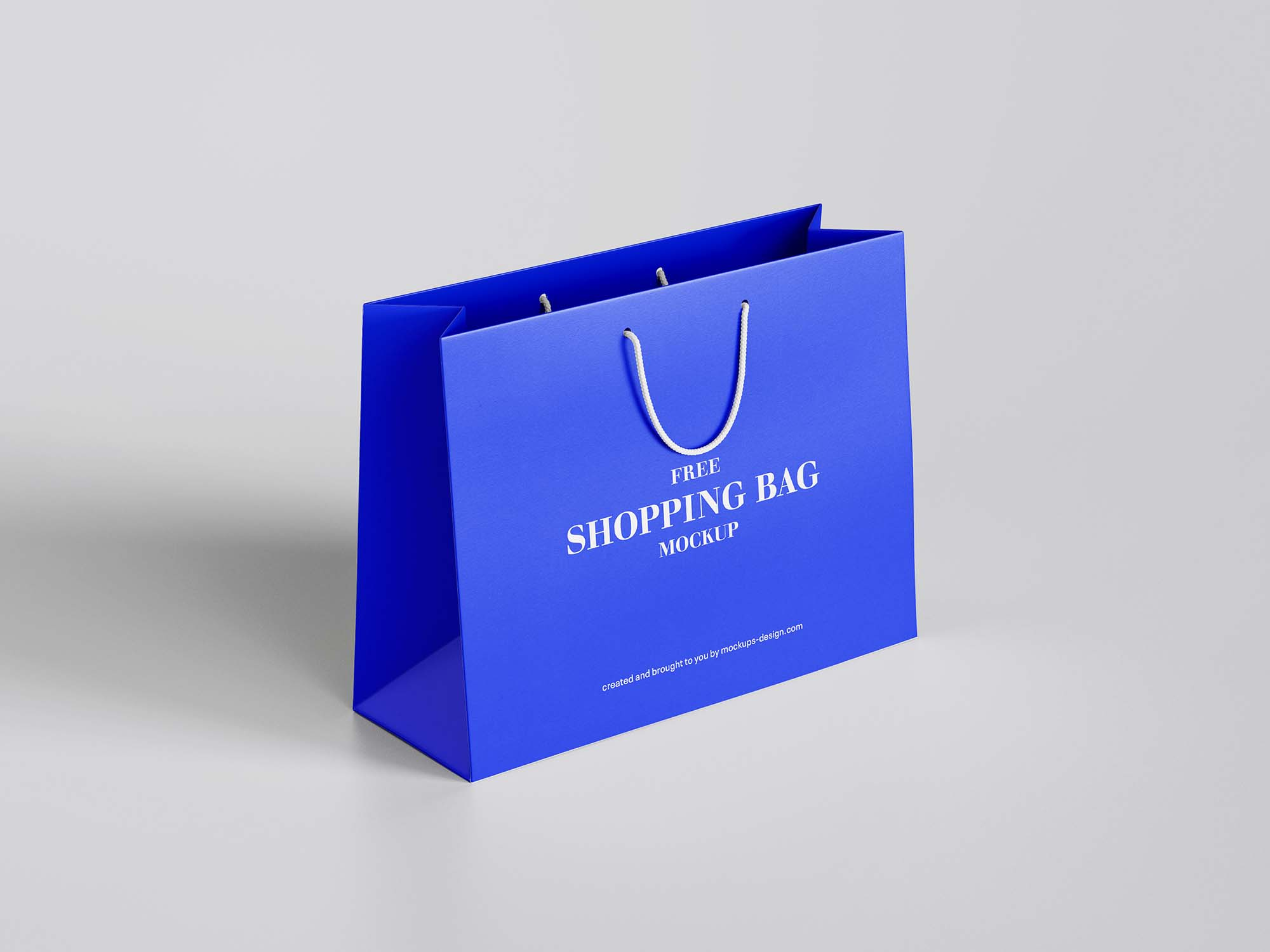 Paper Shopping Bag Mockup 1