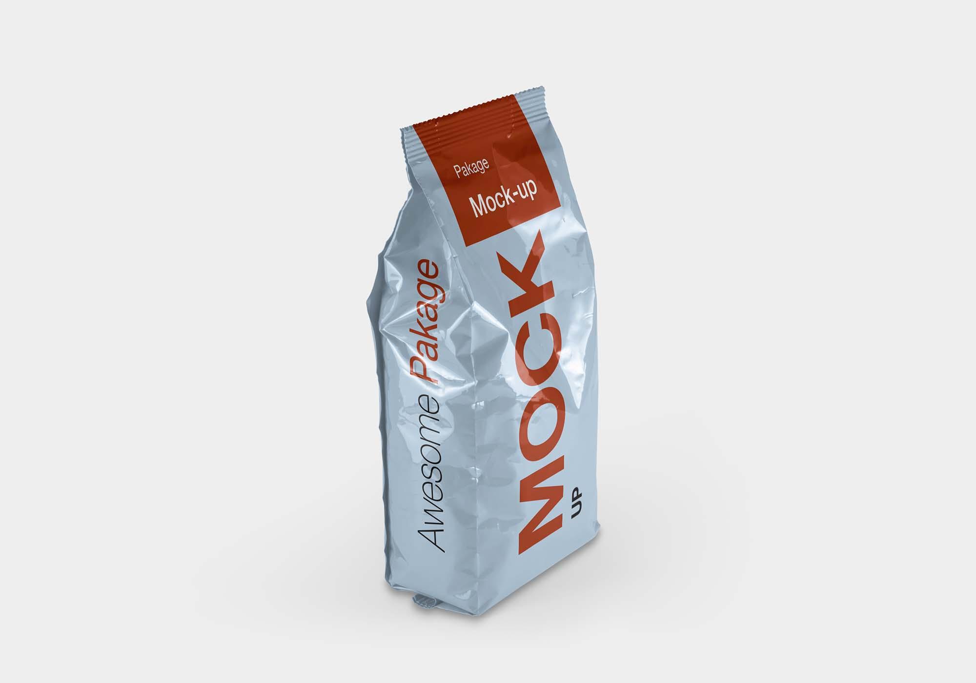 Free Pet Food Packaging Box Mockup Psd