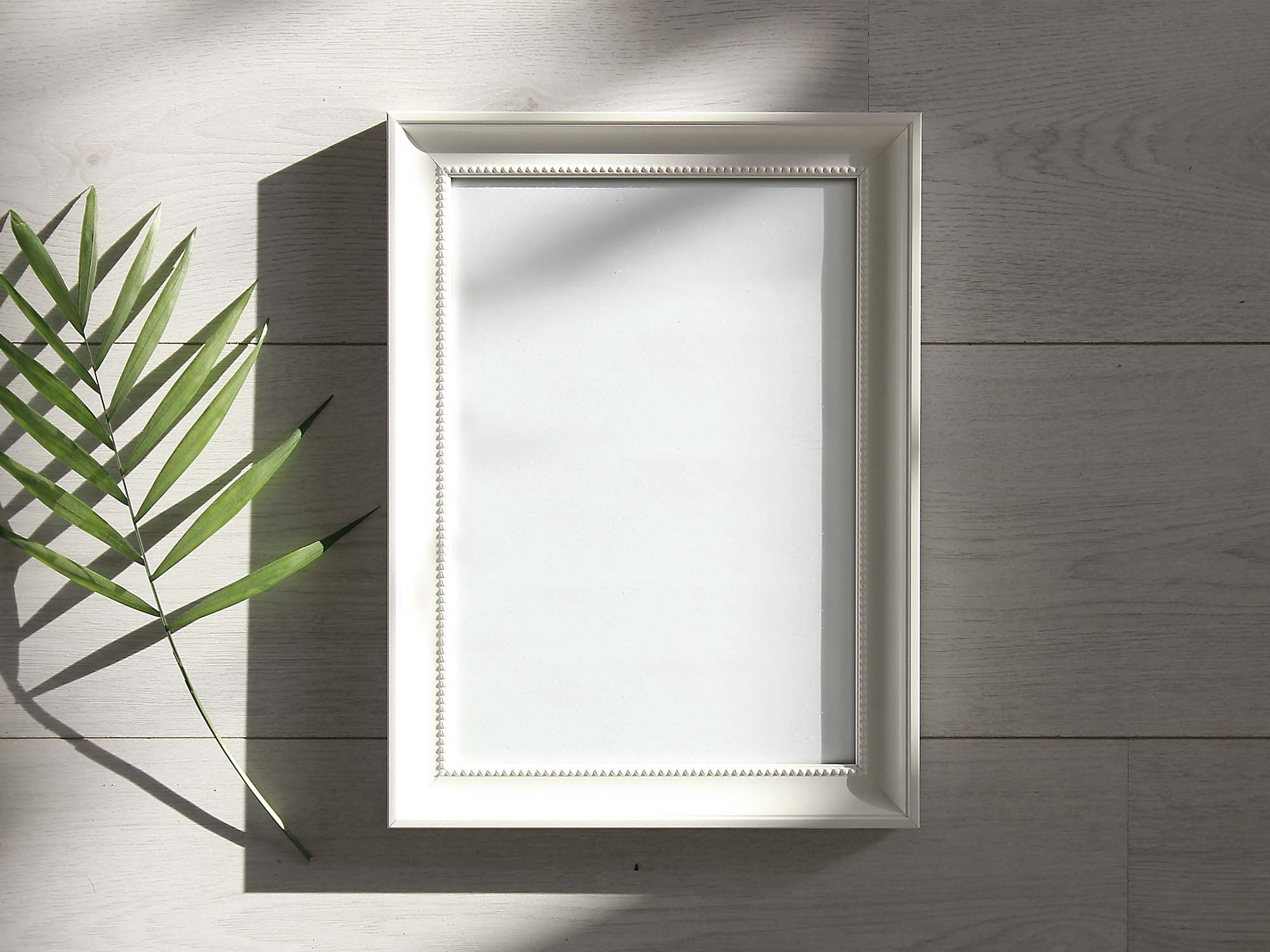 Photo Frame Under Sunlight Mockup 2