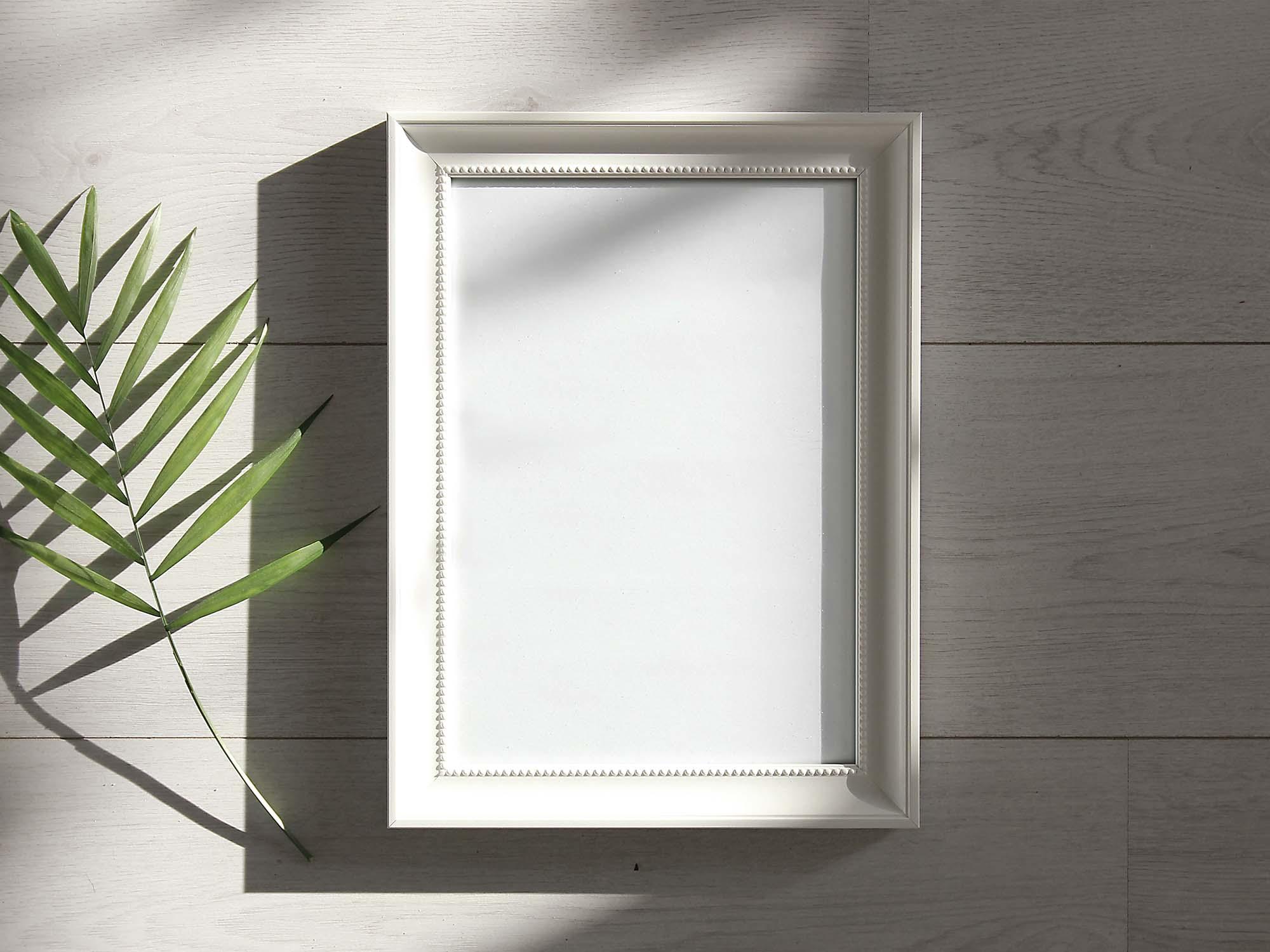 Photo Frame Under Sunlight Mockup 2